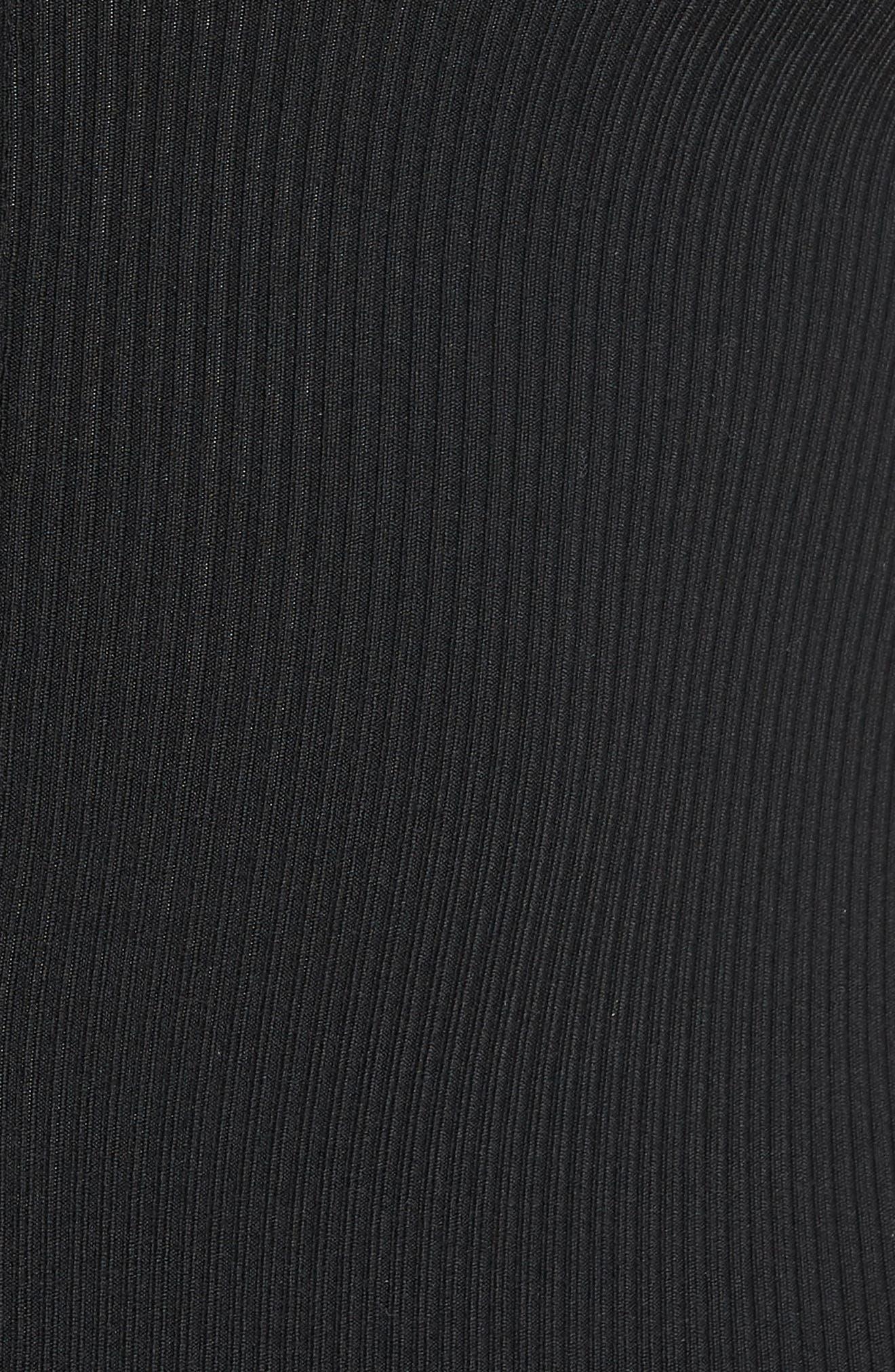 Mock Neck Zip Bodysuit,                             Alternate thumbnail 12, color,