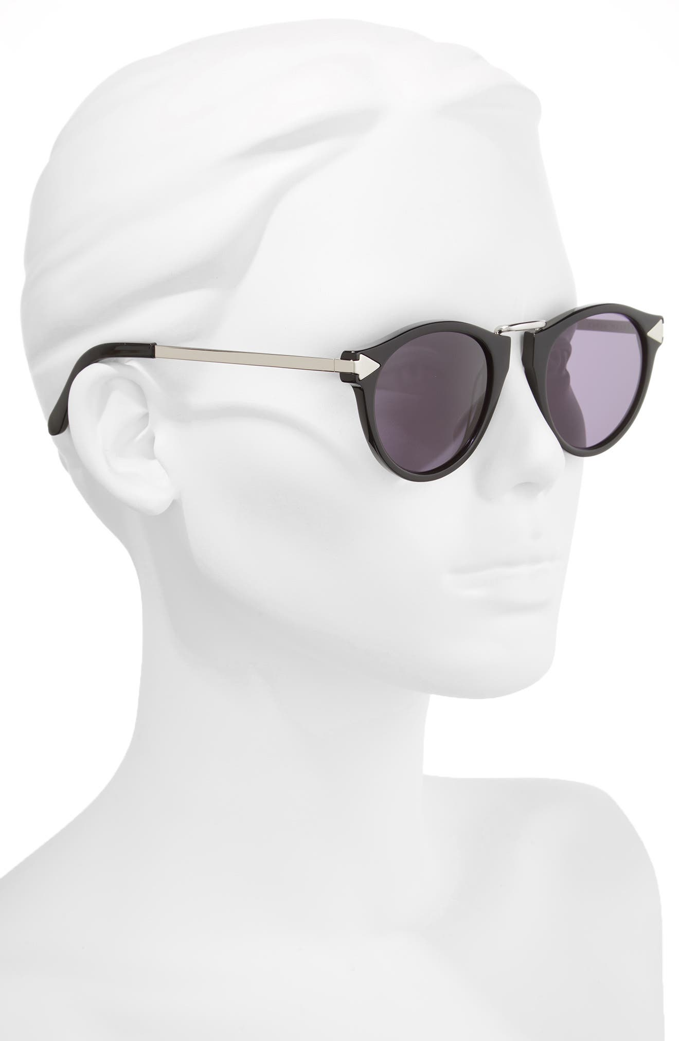 49mm Sunglasses,                             Alternate thumbnail 2, color,                             001