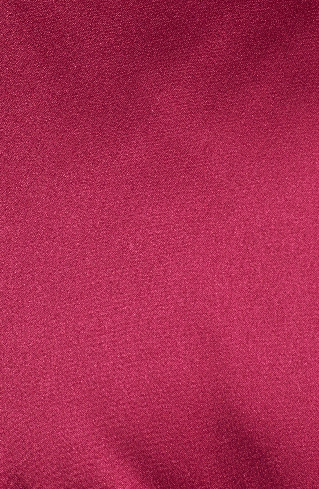Satin Puffer Jacket,                             Alternate thumbnail 6, color,