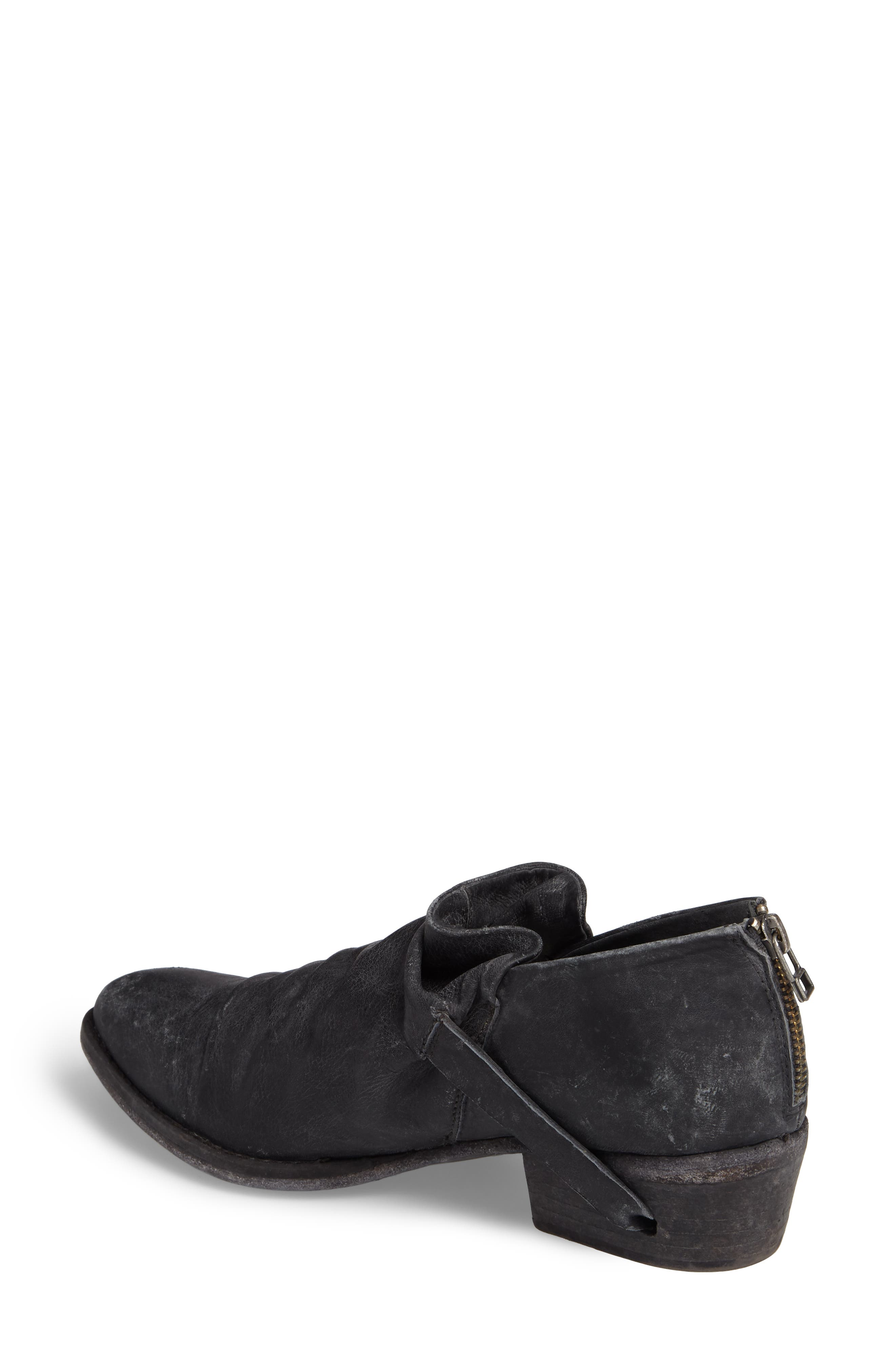 Wills Ruched Bootie,                             Alternate thumbnail 2, color,                             001