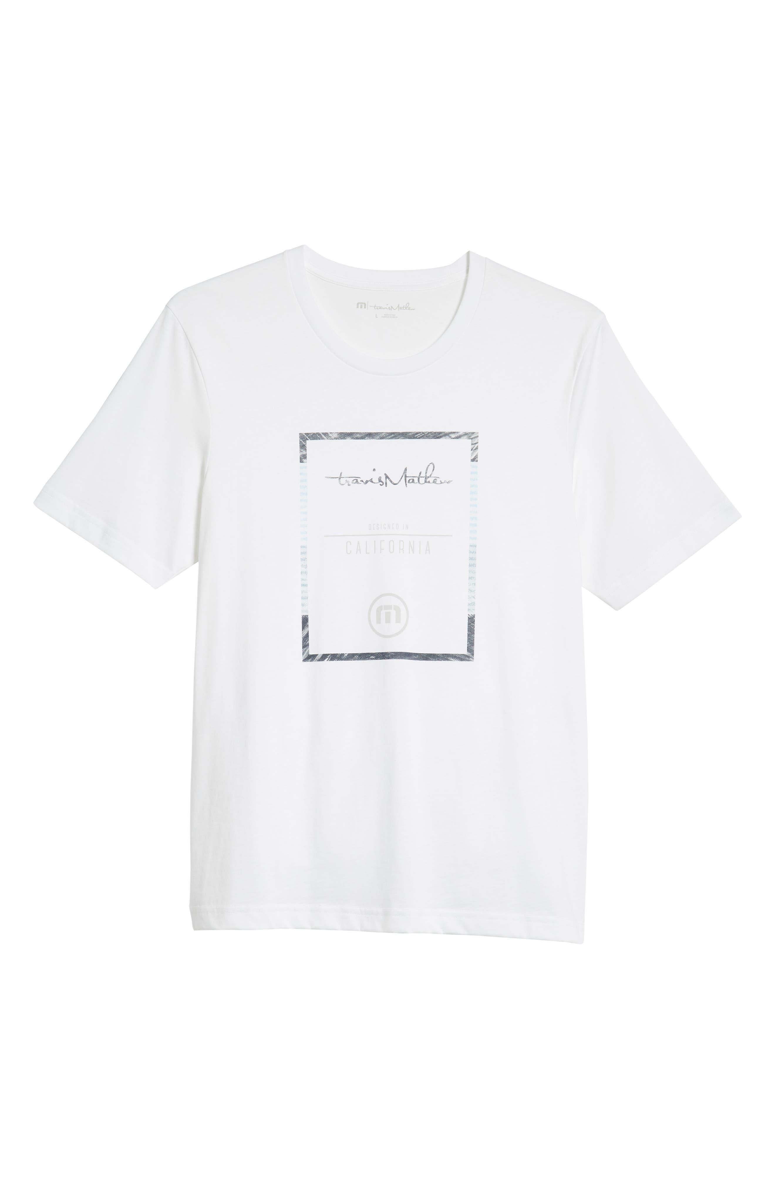 That Box Crewneck T-Shirt,                             Alternate thumbnail 6, color,                             100