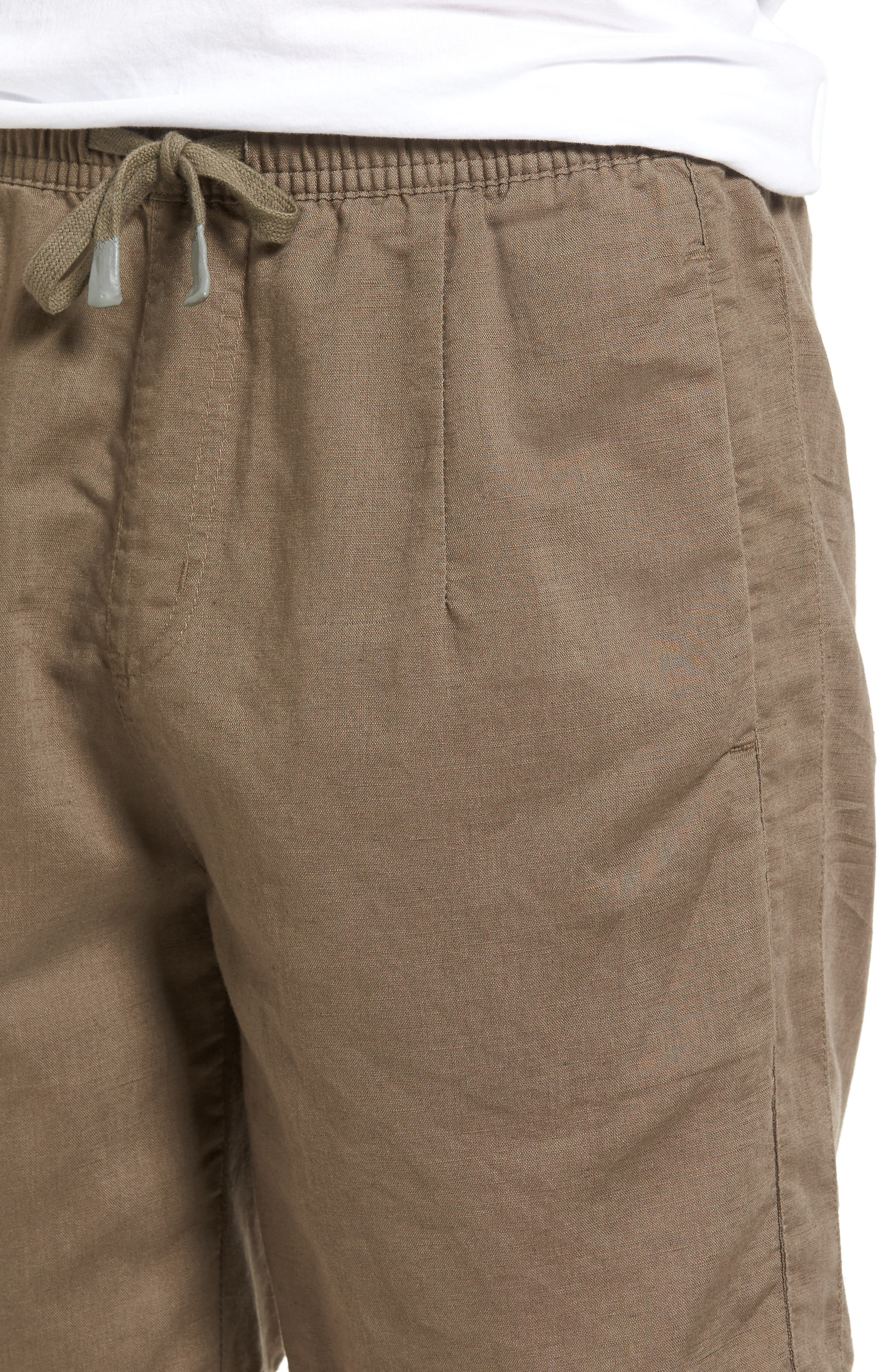 Omni Linen Blend Shorts,                             Alternate thumbnail 4, color,                             310
