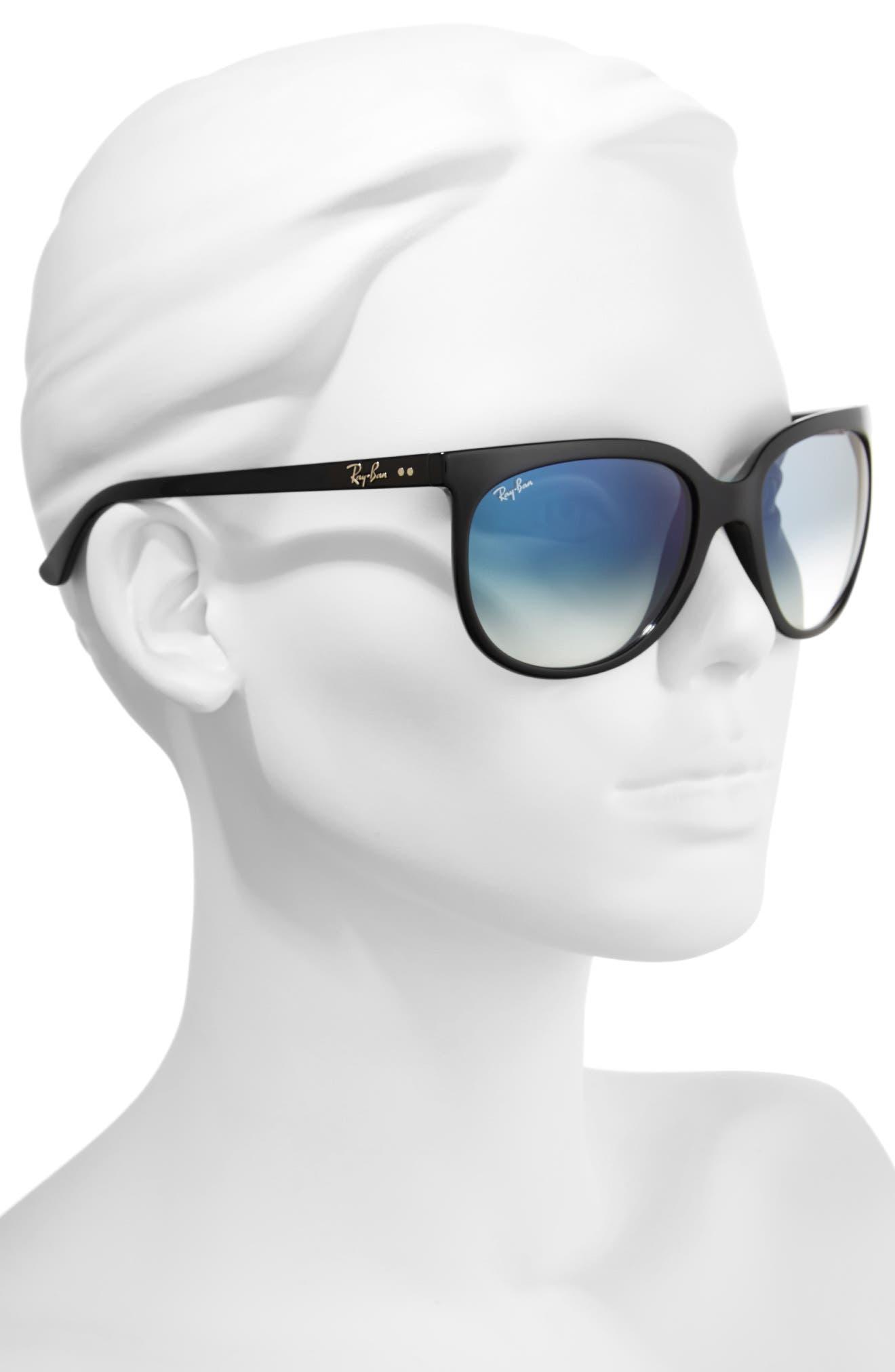 Retro Cat Eye Sunglasses,                             Alternate thumbnail 11, color,