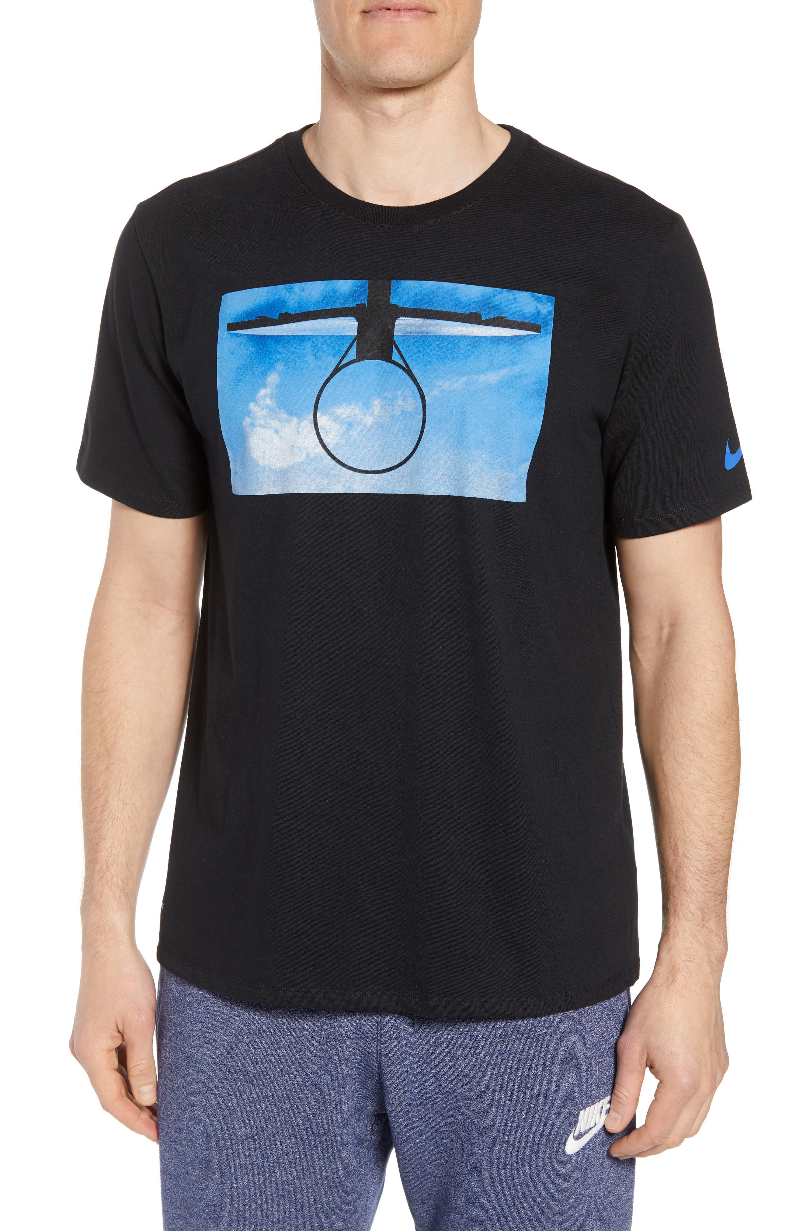 Nike Dri-Fit Basketball Daydream T-Shirt, Black