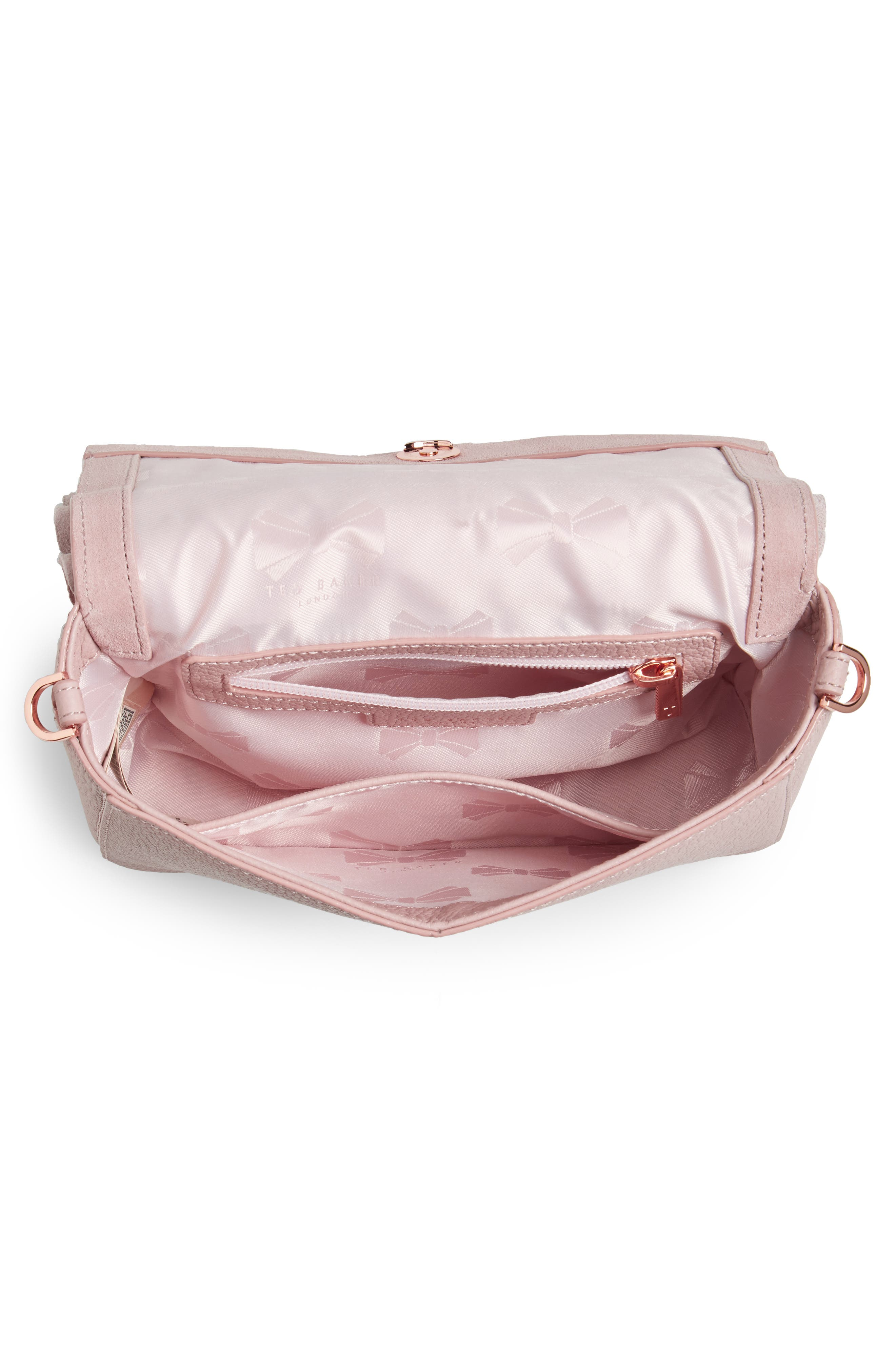 Nerinee Bow Buckle Clutch,                             Alternate thumbnail 12, color,