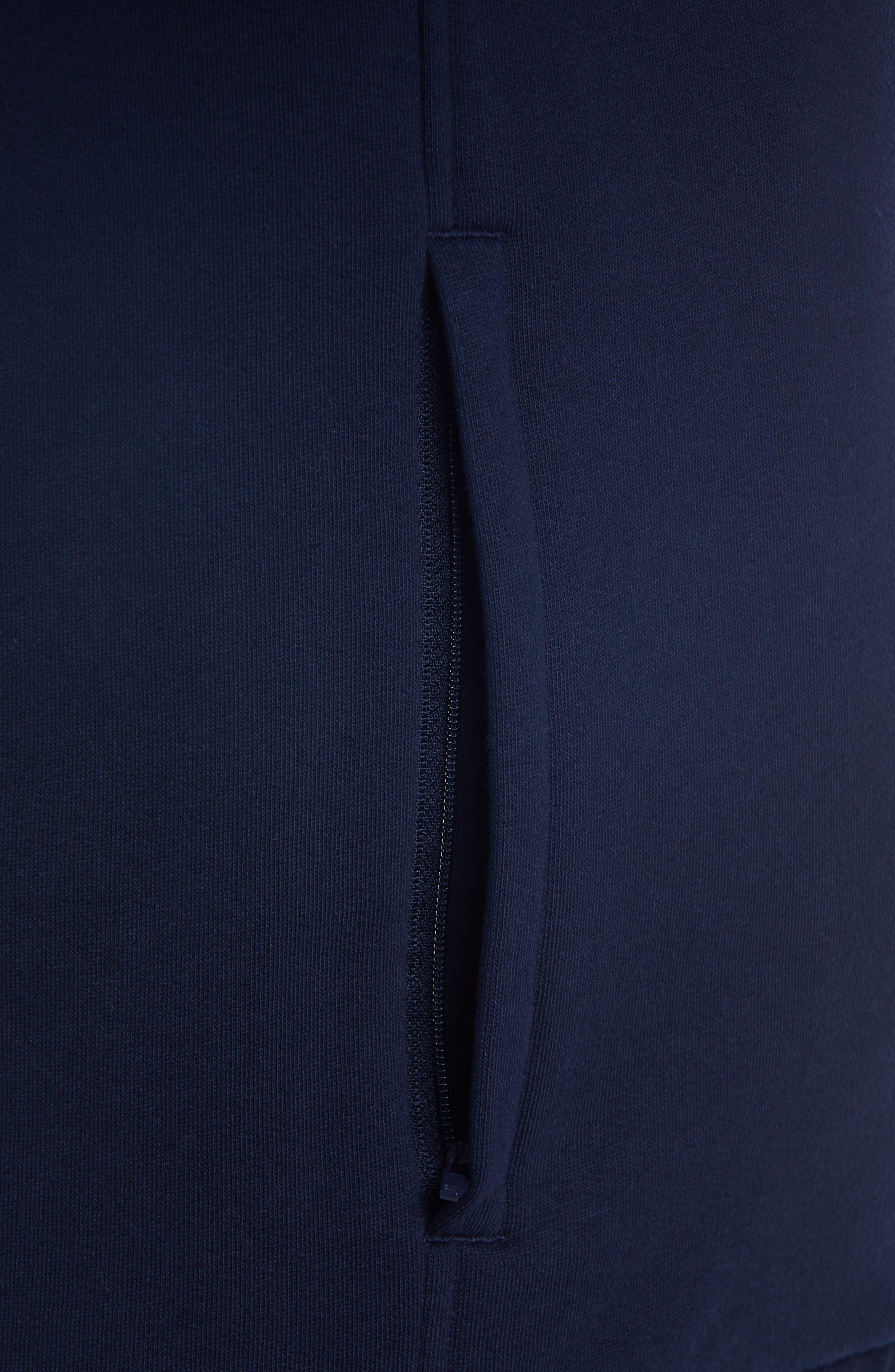 Fleece Zip Jacket,                             Alternate thumbnail 8, color,