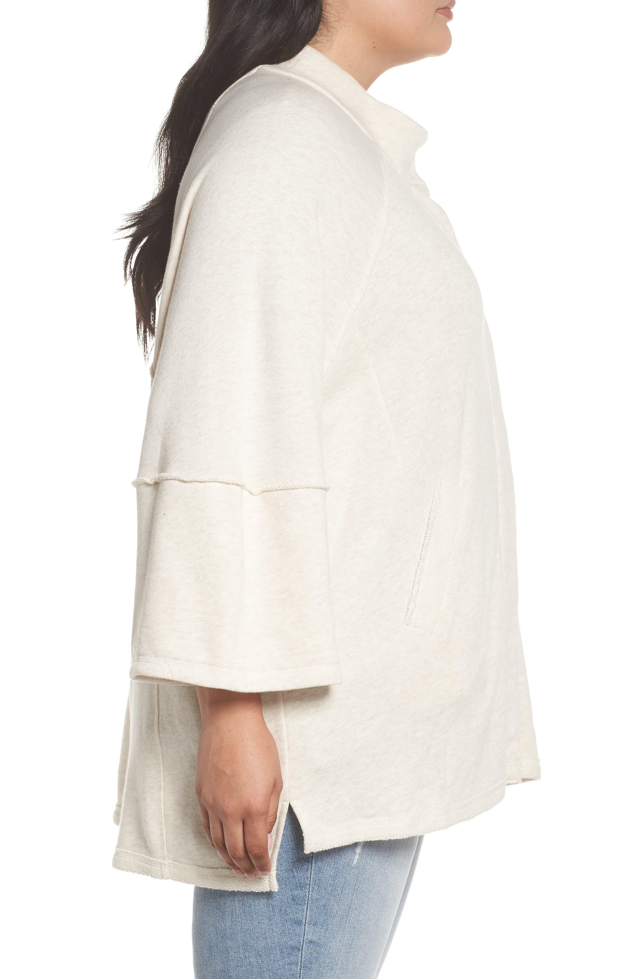 Button Front Knit Jacket,                             Alternate thumbnail 3, color,                             270