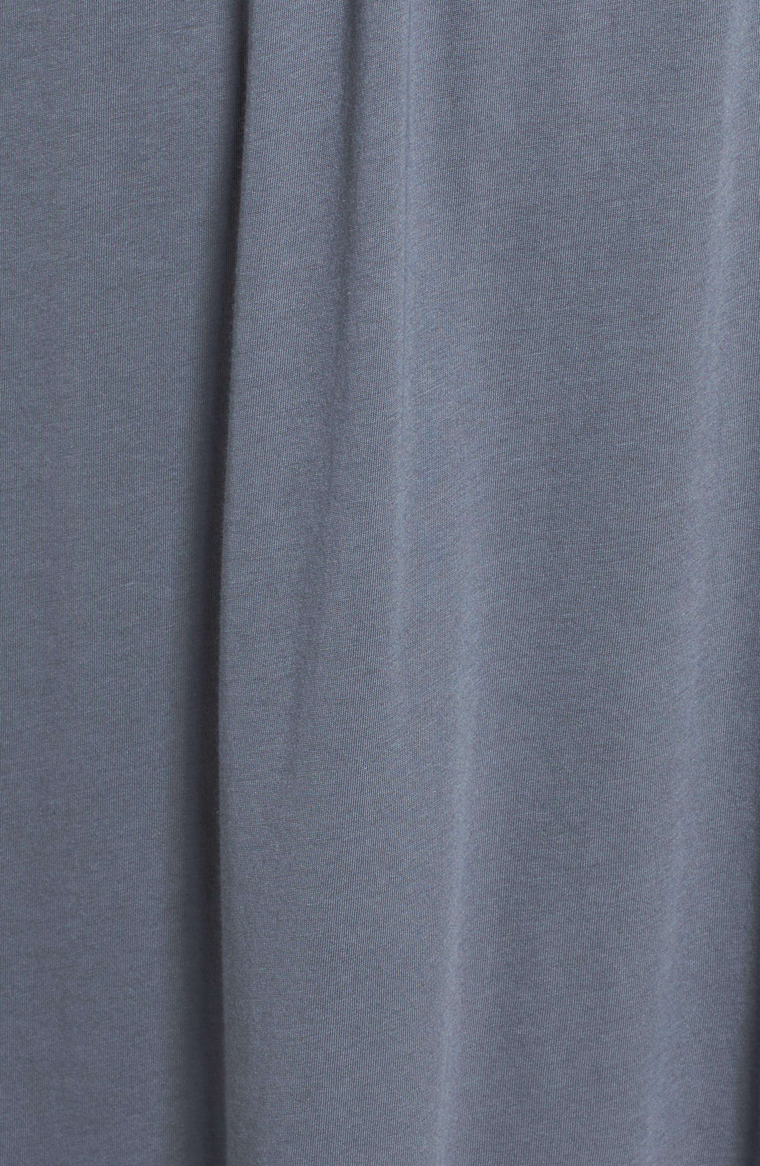 Cotton & Modal Waltz Nightgown,                             Alternate thumbnail 5, color,                             001
