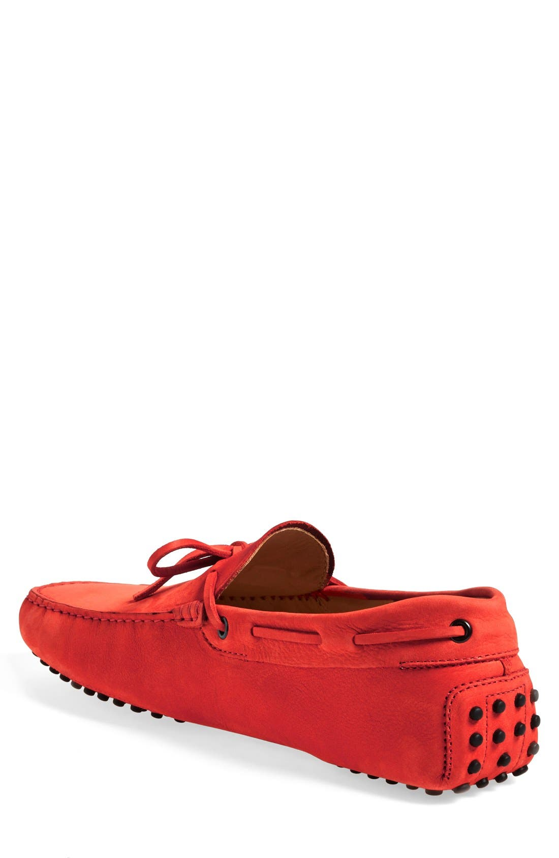 Gommini Tie Front Driving Moccasin,                             Alternate thumbnail 86, color,