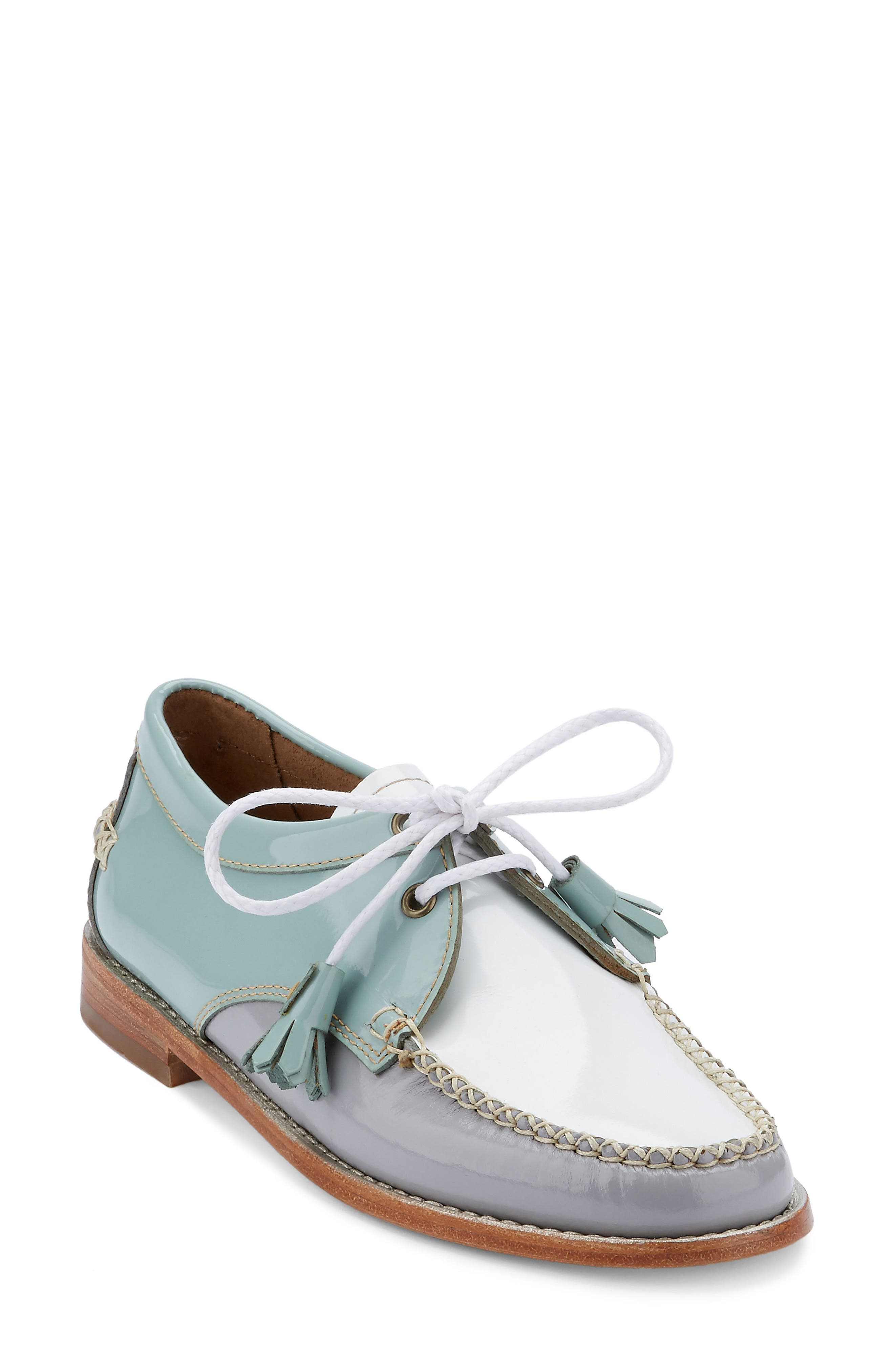 'Winnie' Leather Oxford,                             Main thumbnail 8, color,