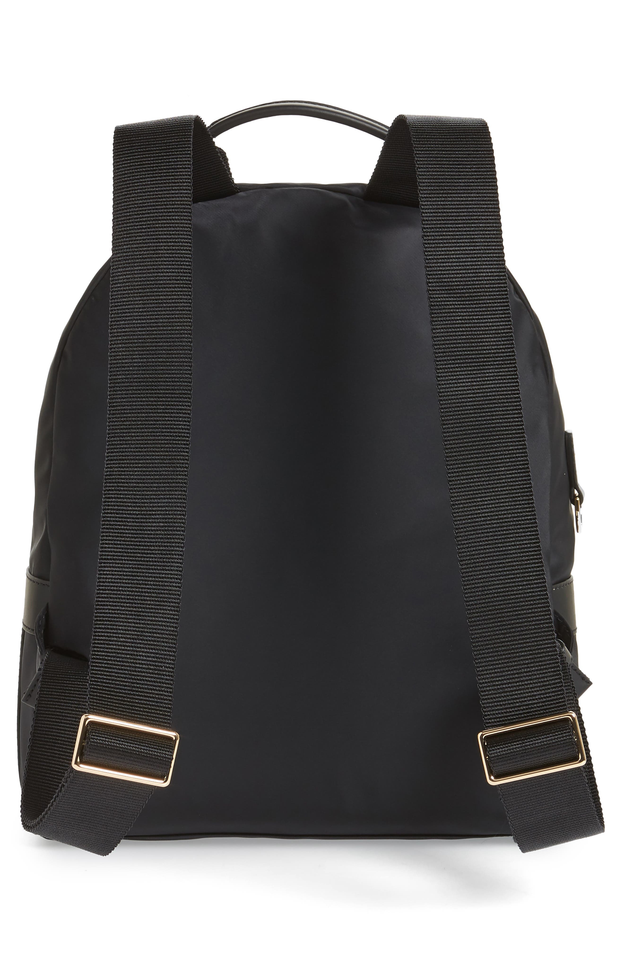 Tilda Nylon Backpack,                             Alternate thumbnail 3, color,                             001