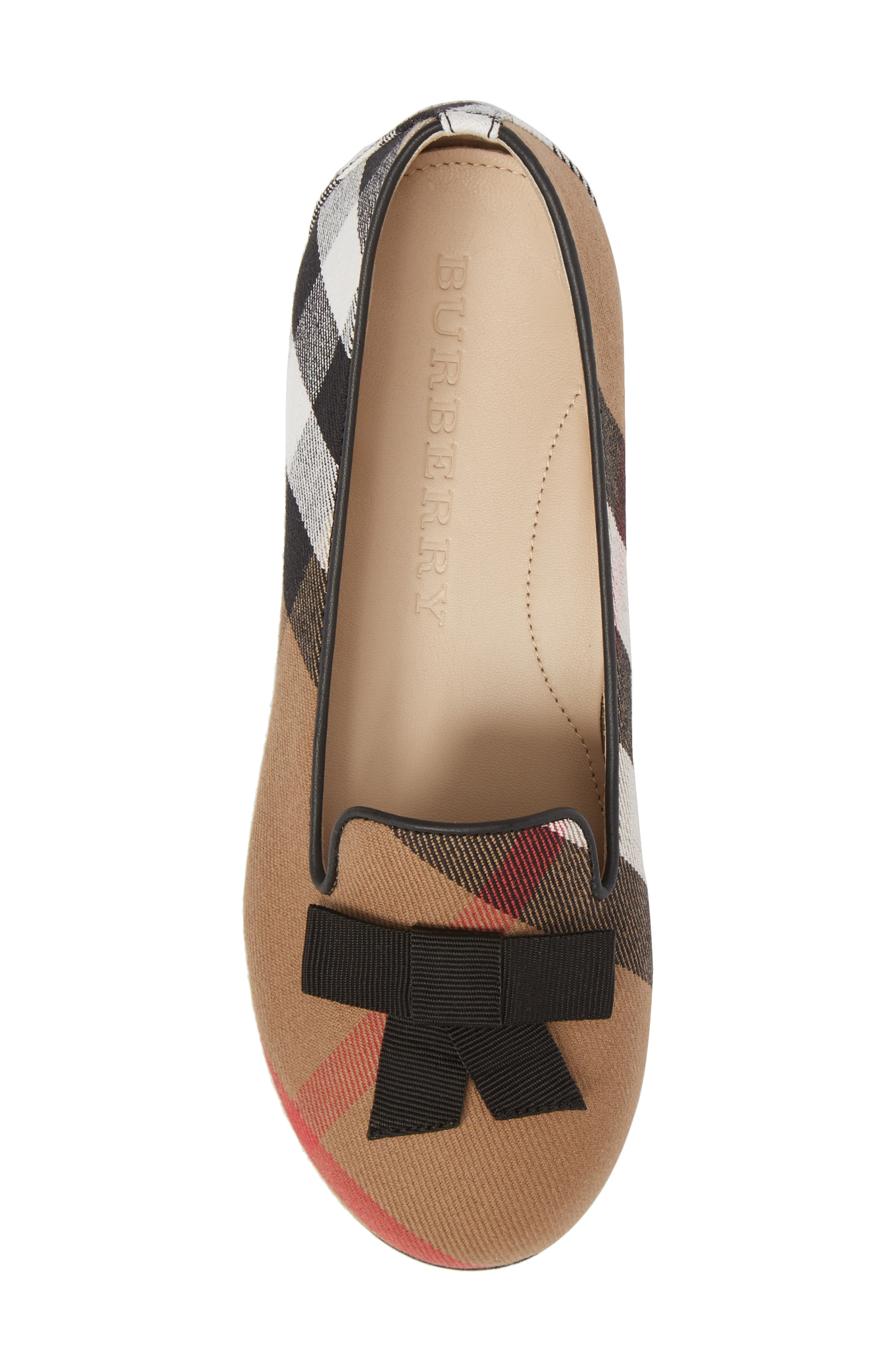 Ally Bow Loafer Flat,                             Alternate thumbnail 5, color,                             231