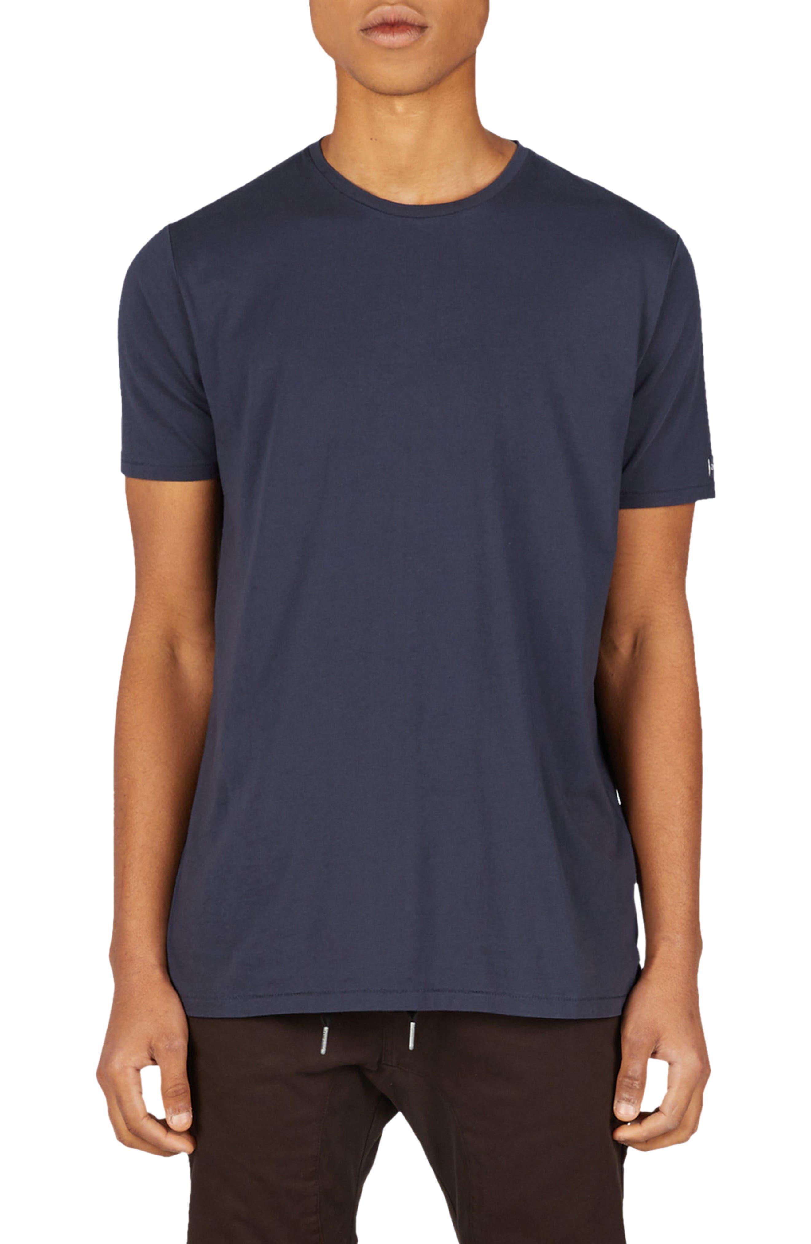 Flintlock Longline T-Shirt,                             Main thumbnail 1, color,                             DUKE BLUE