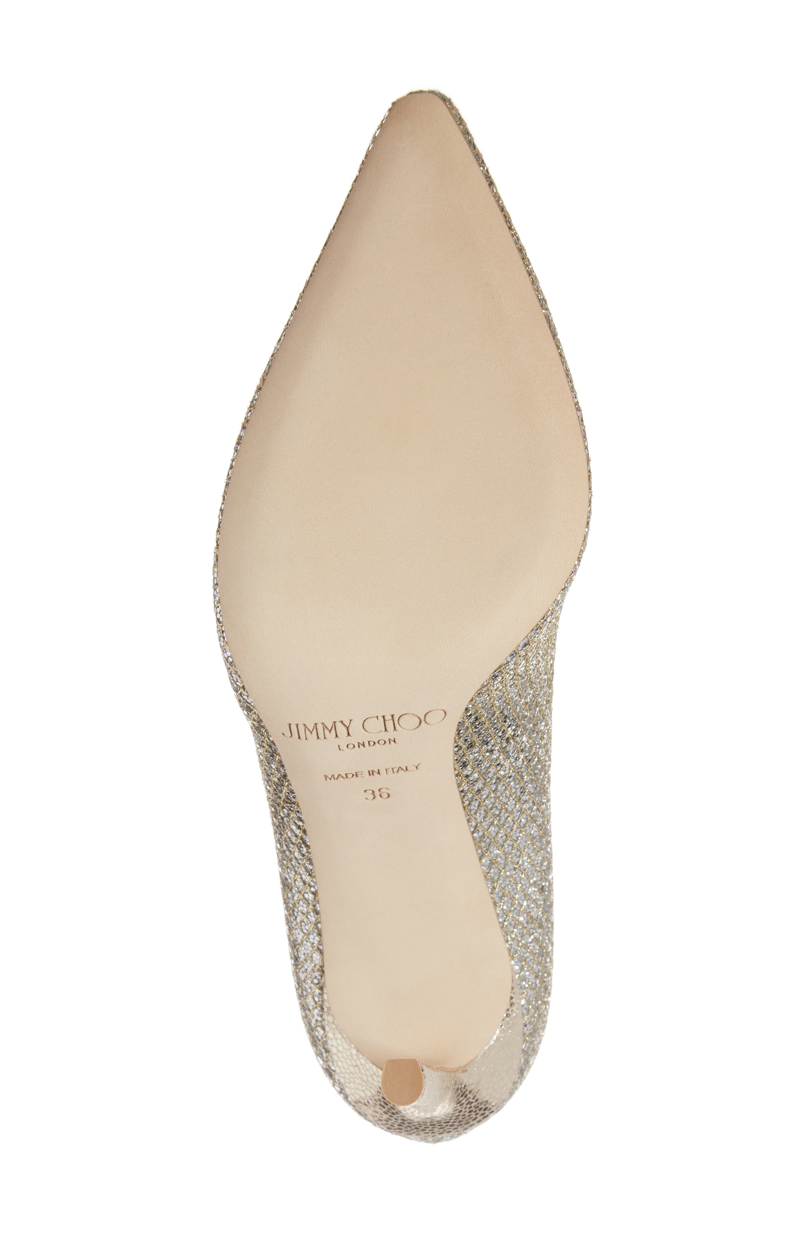 Romy Pointy Toe Pump,                             Alternate thumbnail 6, color,                             CHAMPAGNE