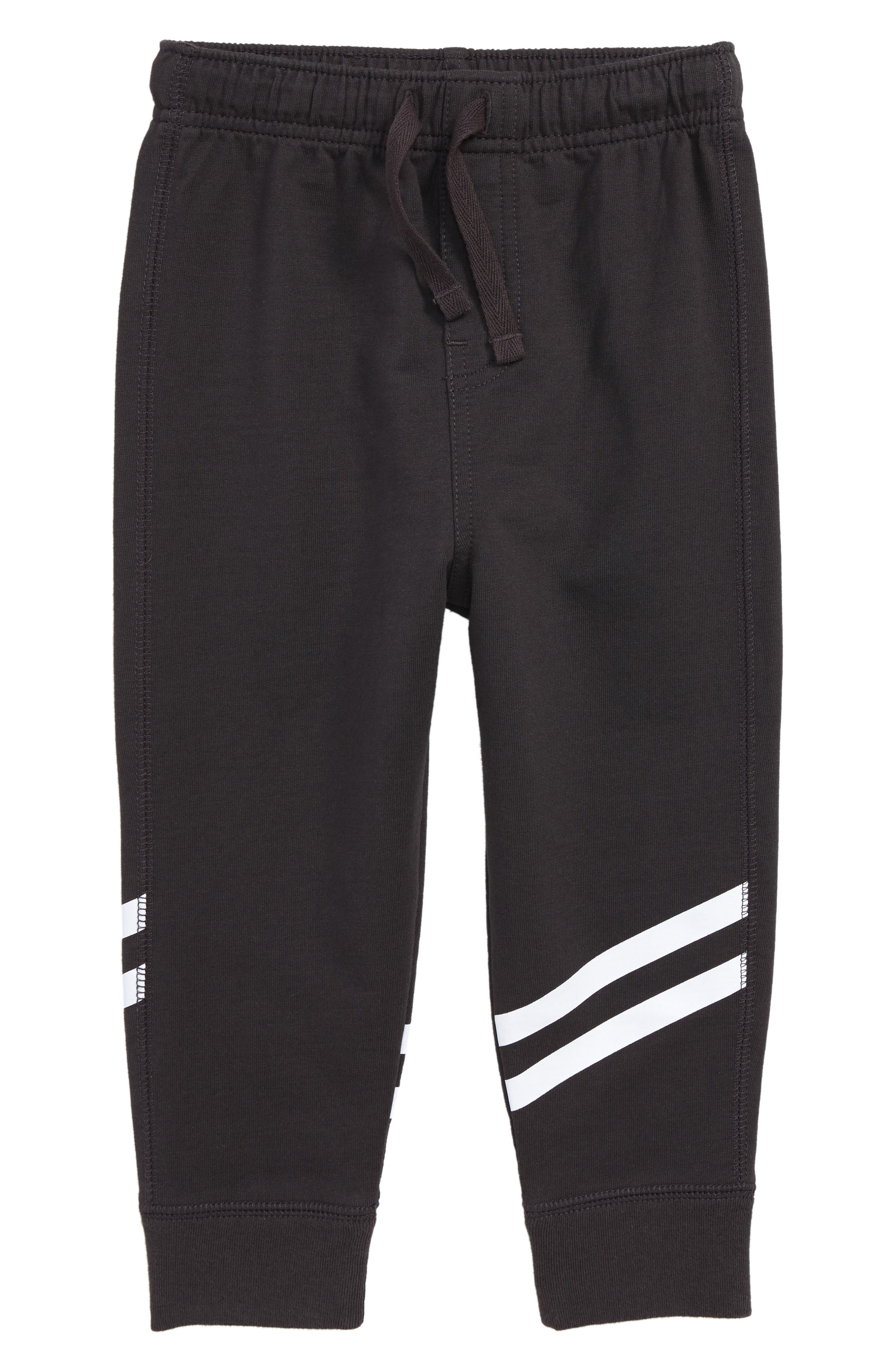 Sporty Stripe Jogger Pants,                             Main thumbnail 1, color,                             PHANTOM