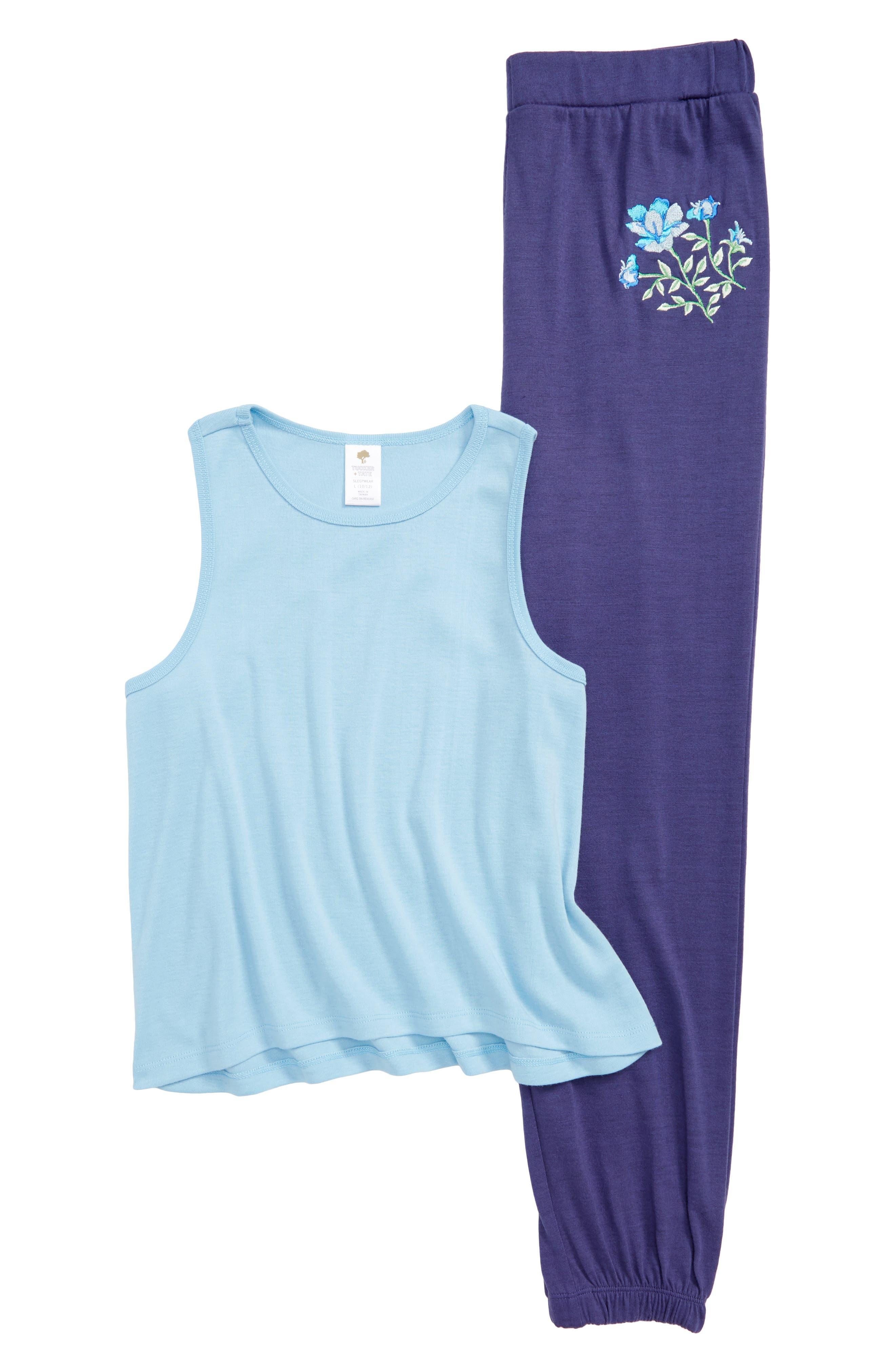 Two-Piece Pajamas Set,                             Main thumbnail 1, color,                             420