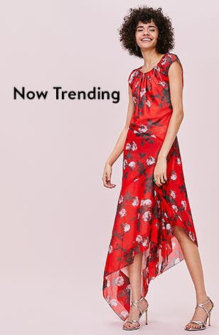 Now trending in women's dresses.