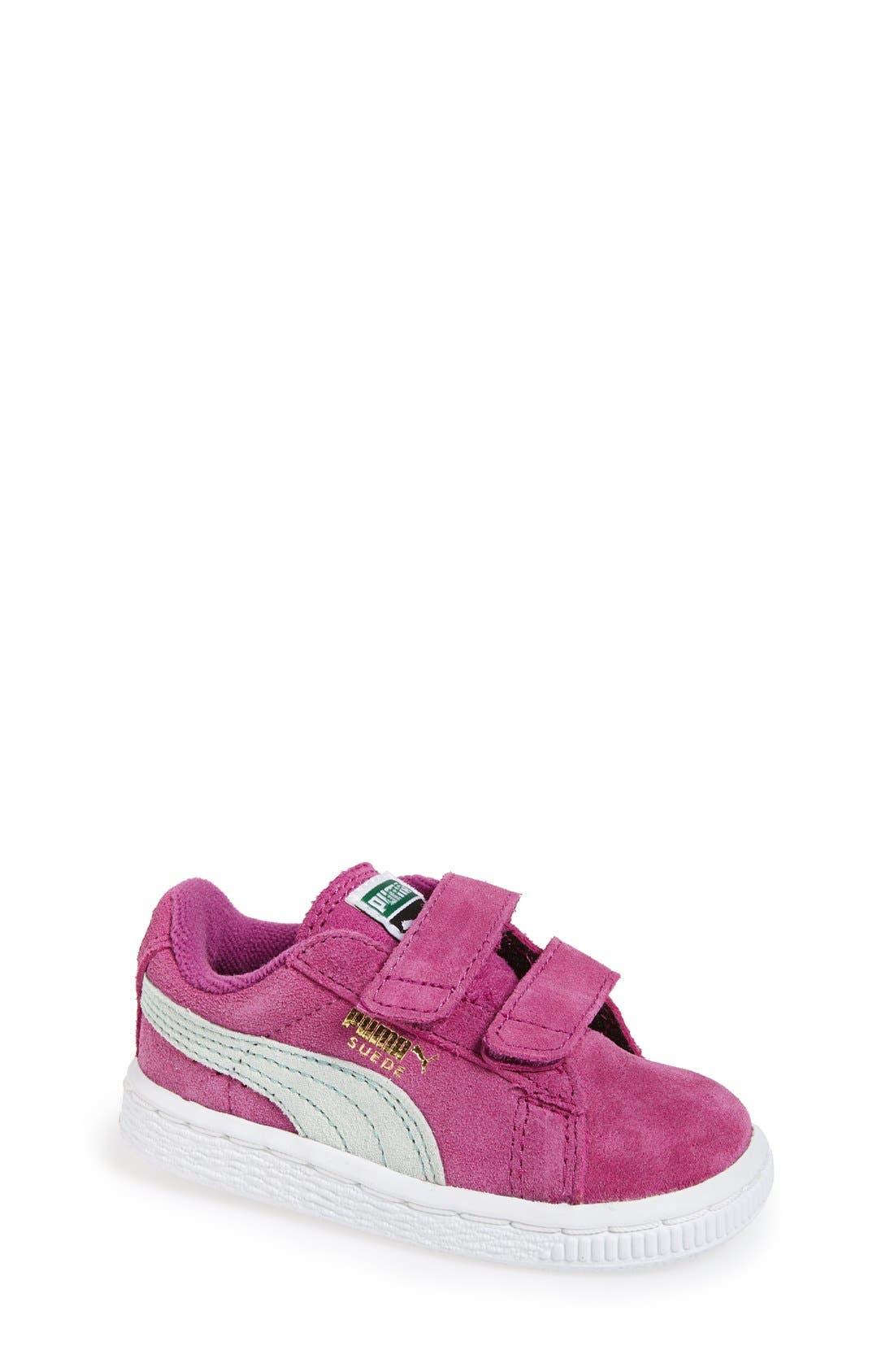 Suede Sneaker,                             Main thumbnail 10, color,