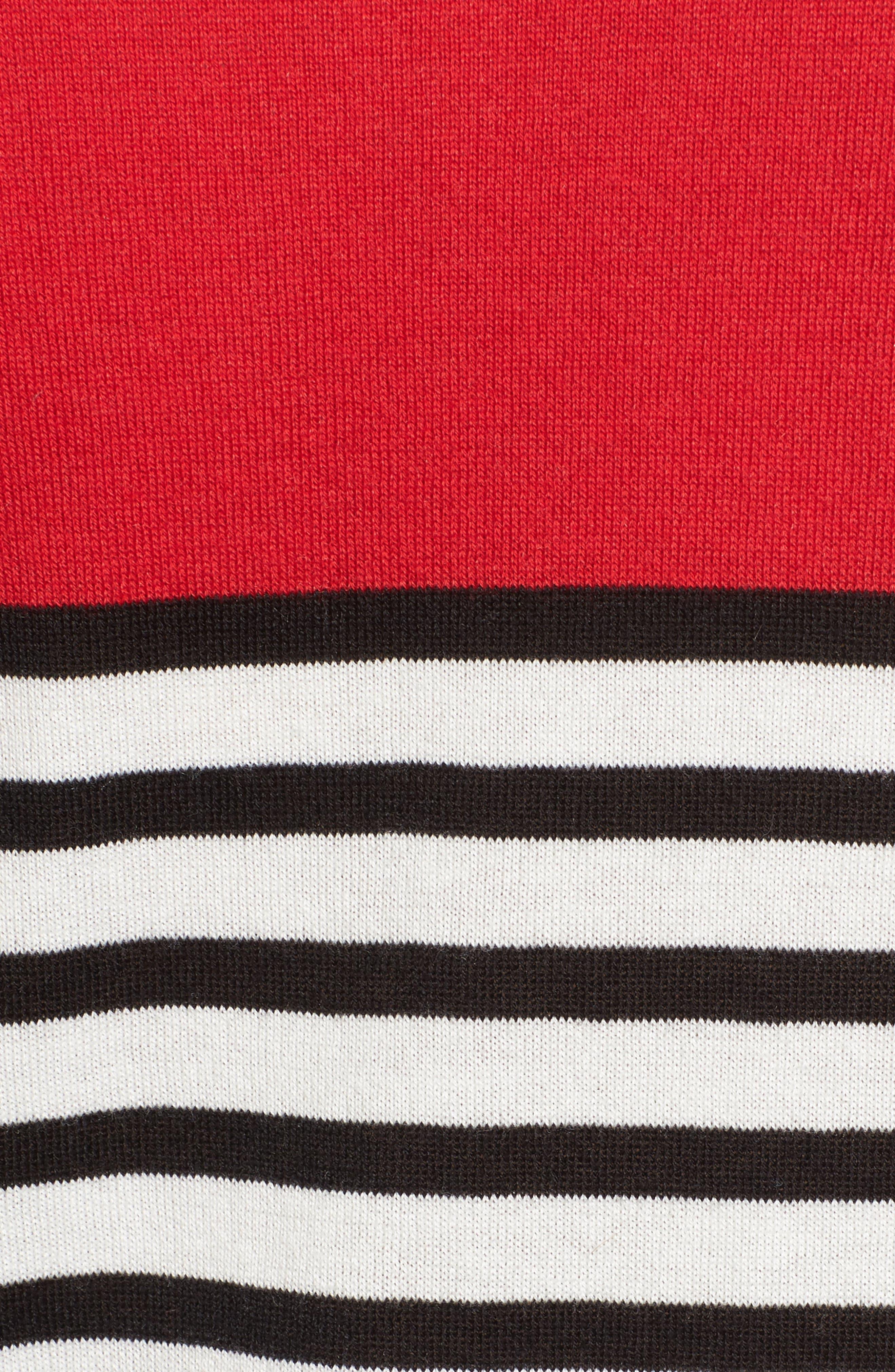Colorblock Stripe Sweater,                             Alternate thumbnail 18, color,