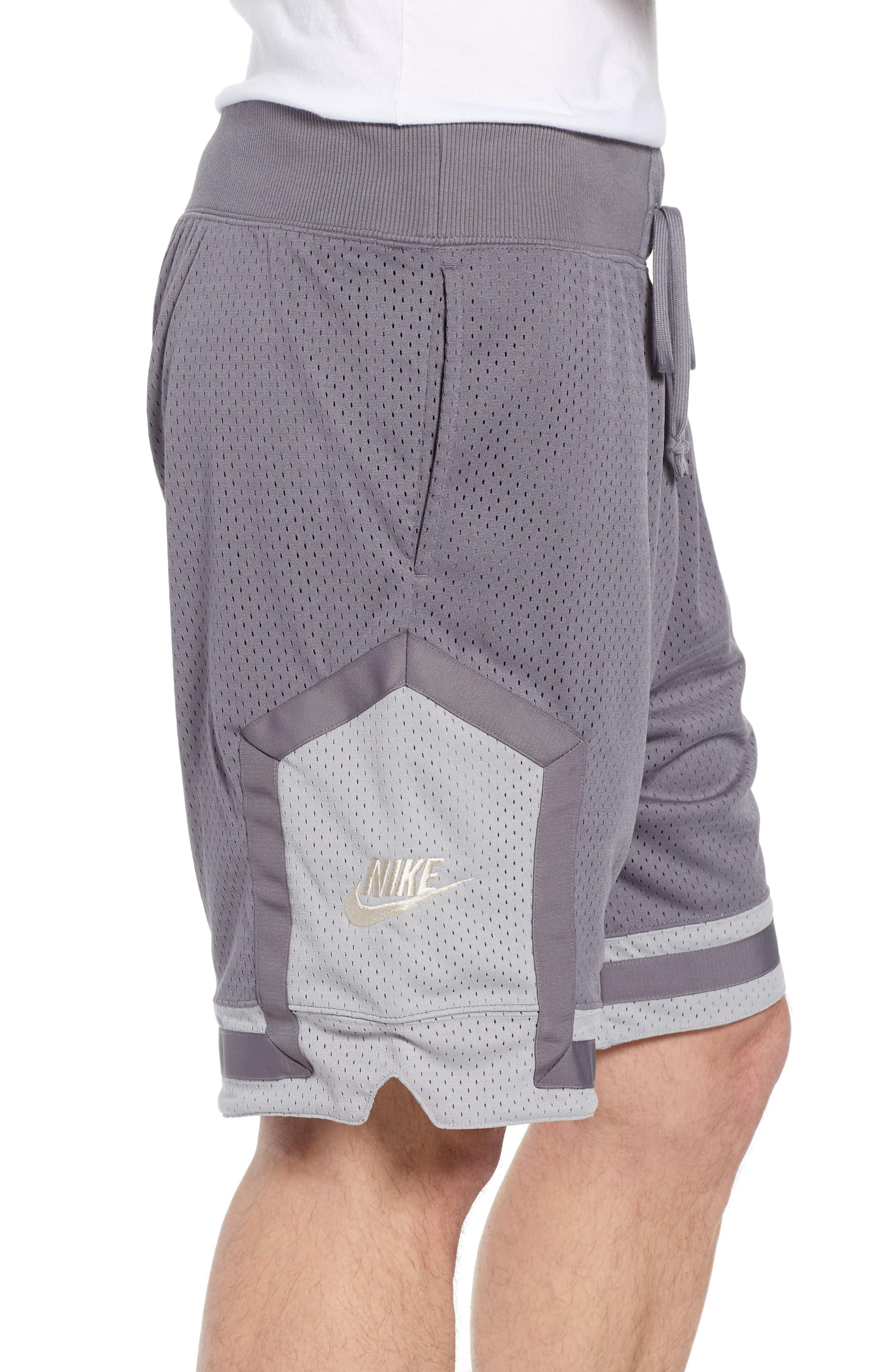 NSW AF1 Shorts,                             Alternate thumbnail 3, color,                             GUNSMOKE/ GREY/ OREWOOD
