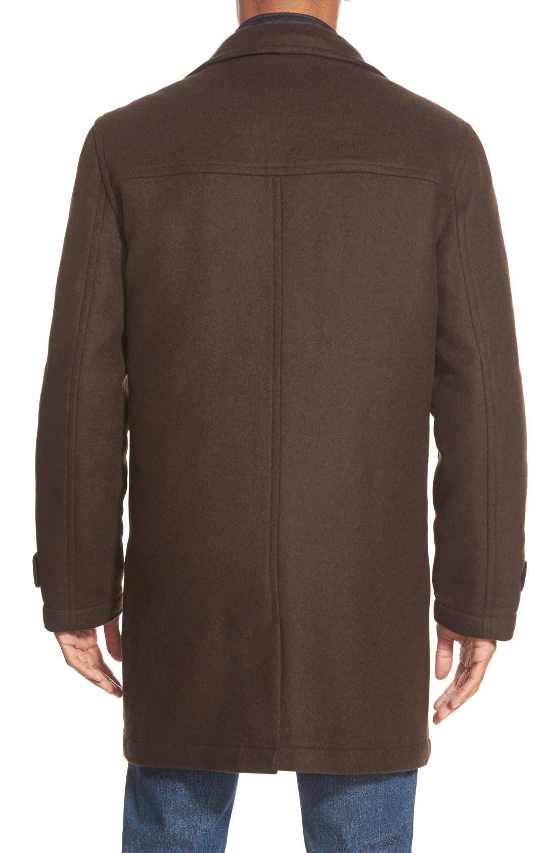 'Westown' 3-in-1 Wool Blend Coat,                             Alternate thumbnail 5, color,