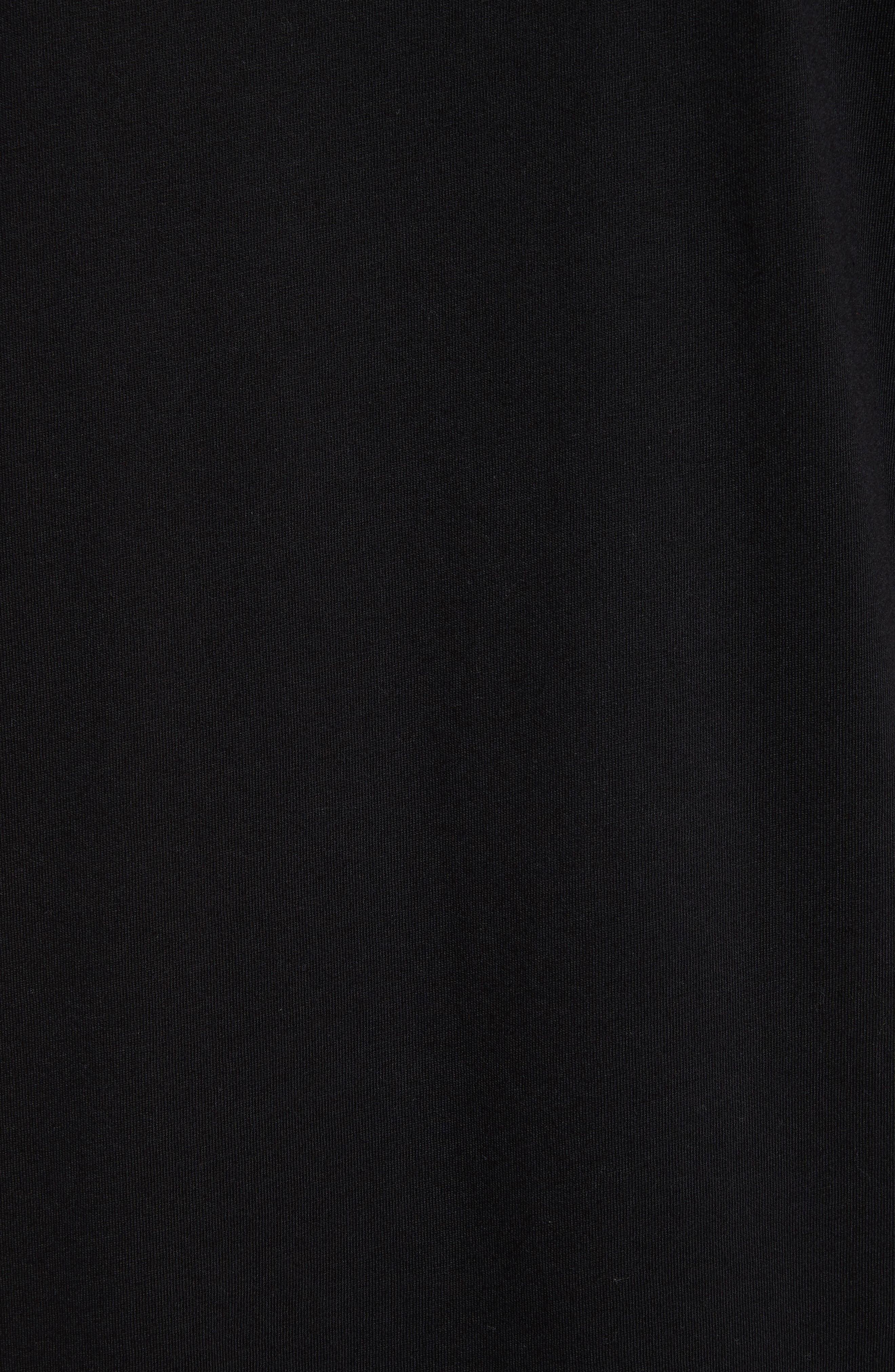 VERSUS by Versace Electric Lion Graphic T-Shirt,                             Alternate thumbnail 5, color,                             005