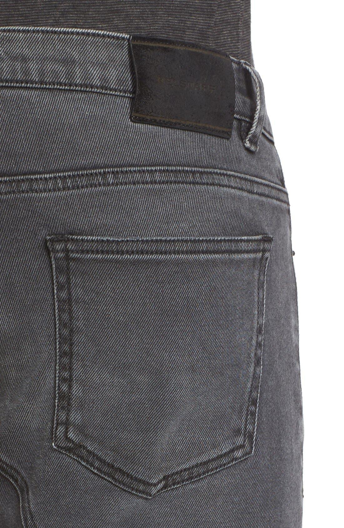 Eastham Slim Fit Stretch Denim Moto Jeans,                             Alternate thumbnail 6, color,                             022
