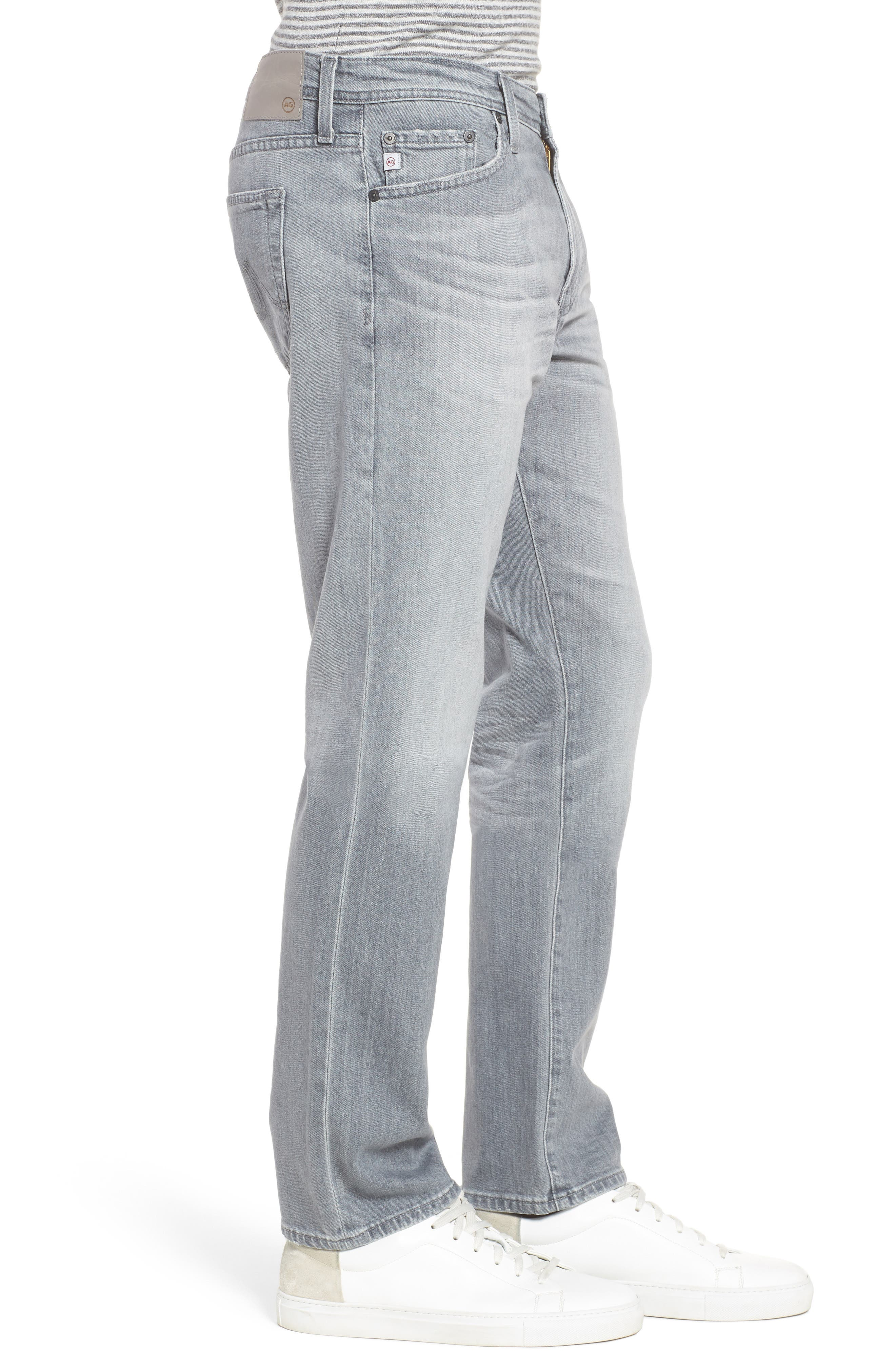 Everett Slim Straight Fit Jeans,                             Alternate thumbnail 3, color,