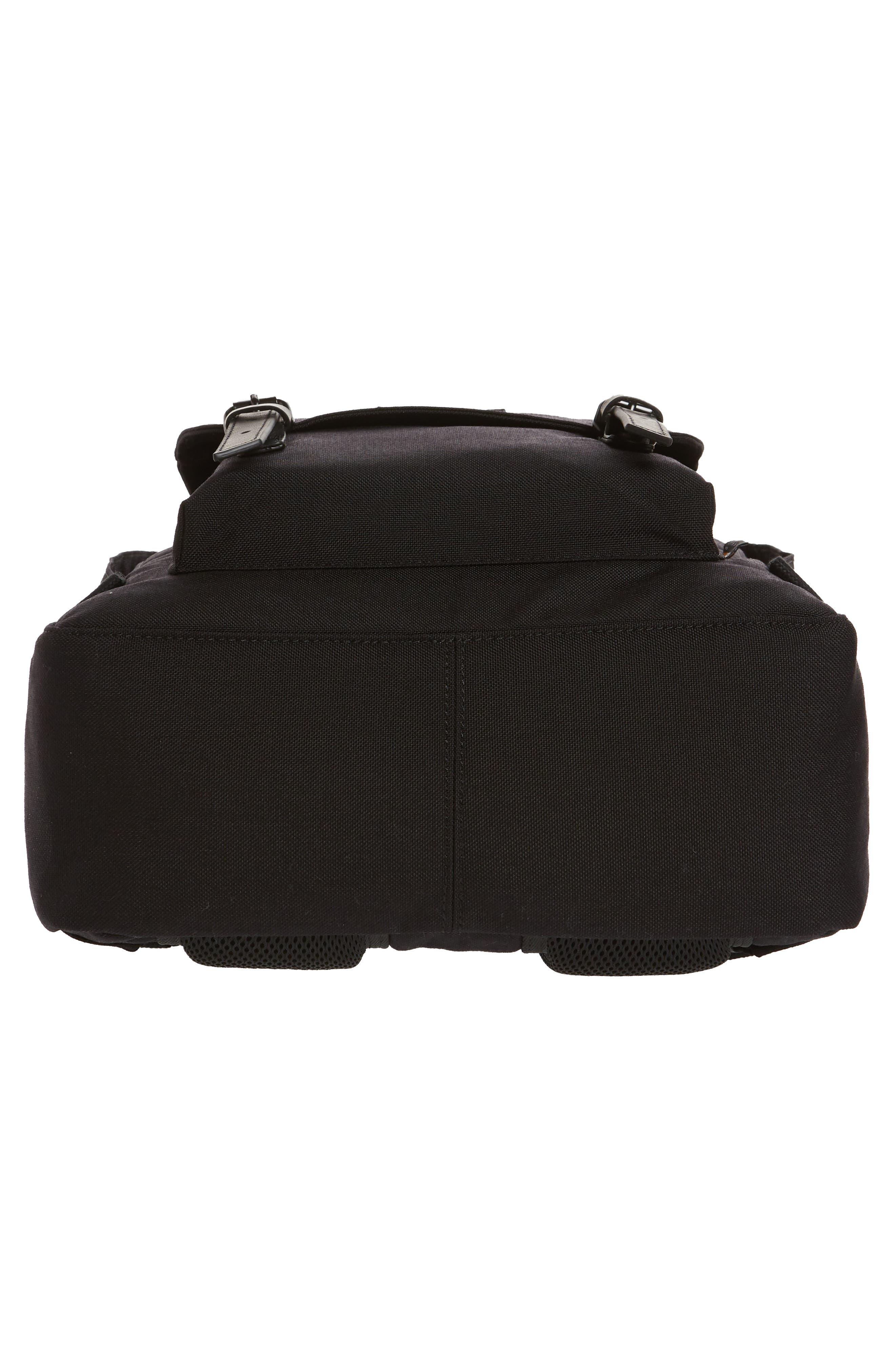 Macaroon Large Cordura<sup>®</sup> Black Series Water Repellent Backpack,                             Alternate thumbnail 6, color,                             001