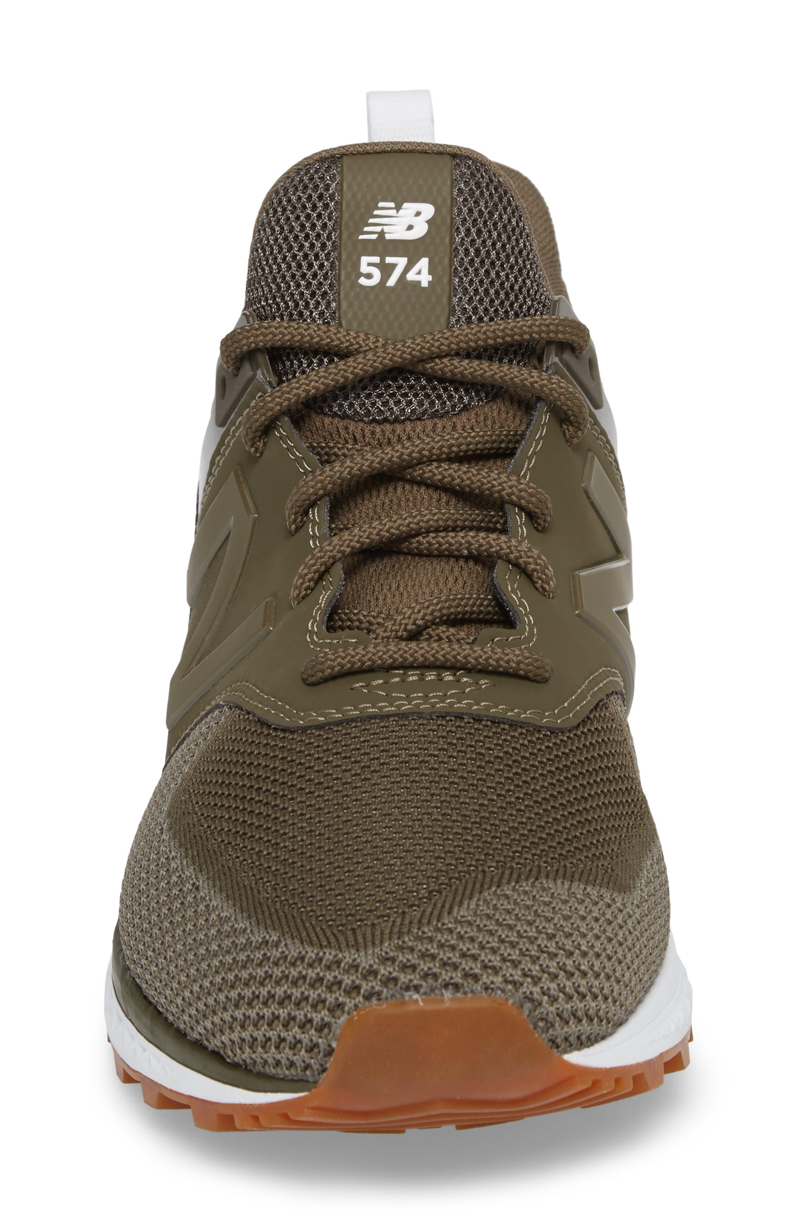 574 Engineered Mesh Sneaker,                             Alternate thumbnail 4, color,                             338