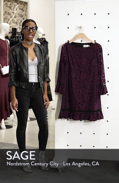 Bell Sleeve Lace Shift Dress, sales video thumbnail