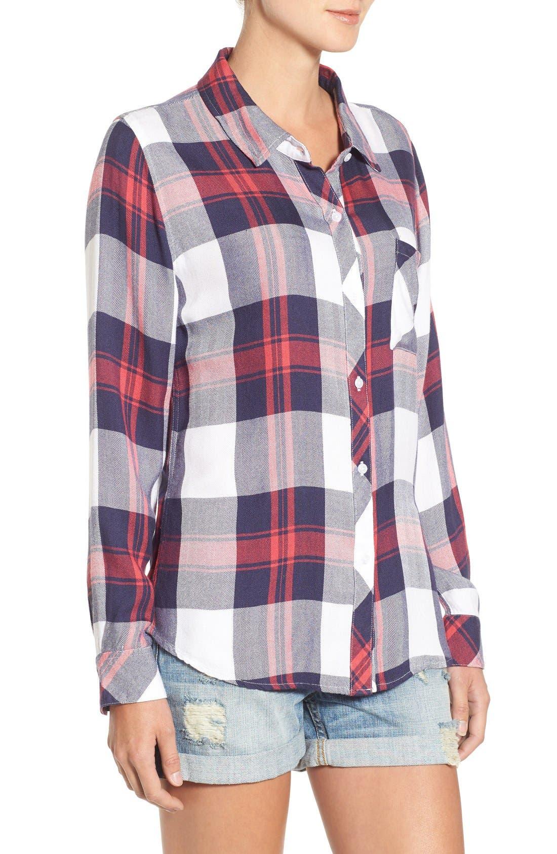 Hunter Plaid Shirt,                             Alternate thumbnail 539, color,