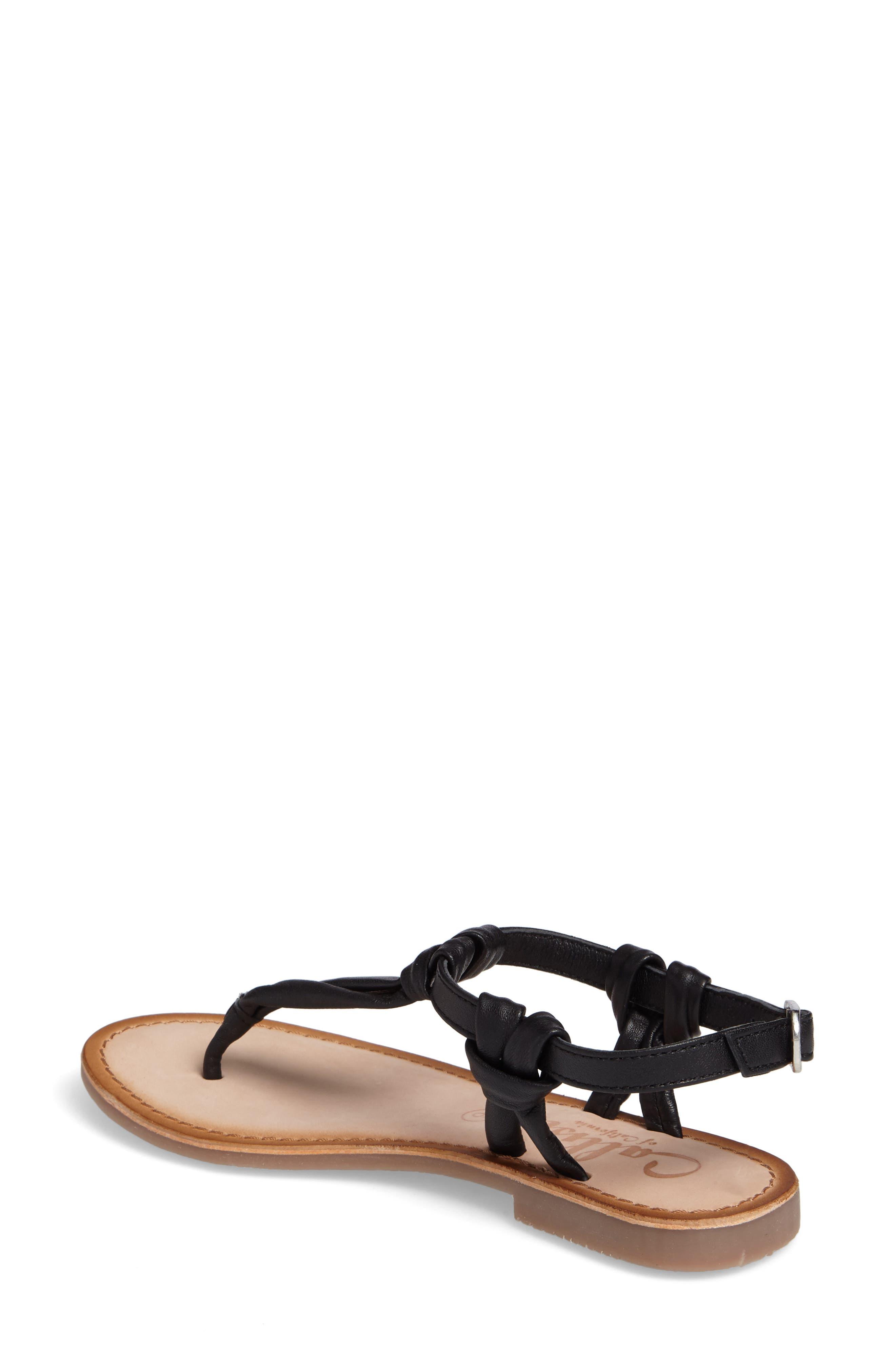 Azza T-Strap Sandal,                             Alternate thumbnail 2, color,                             001