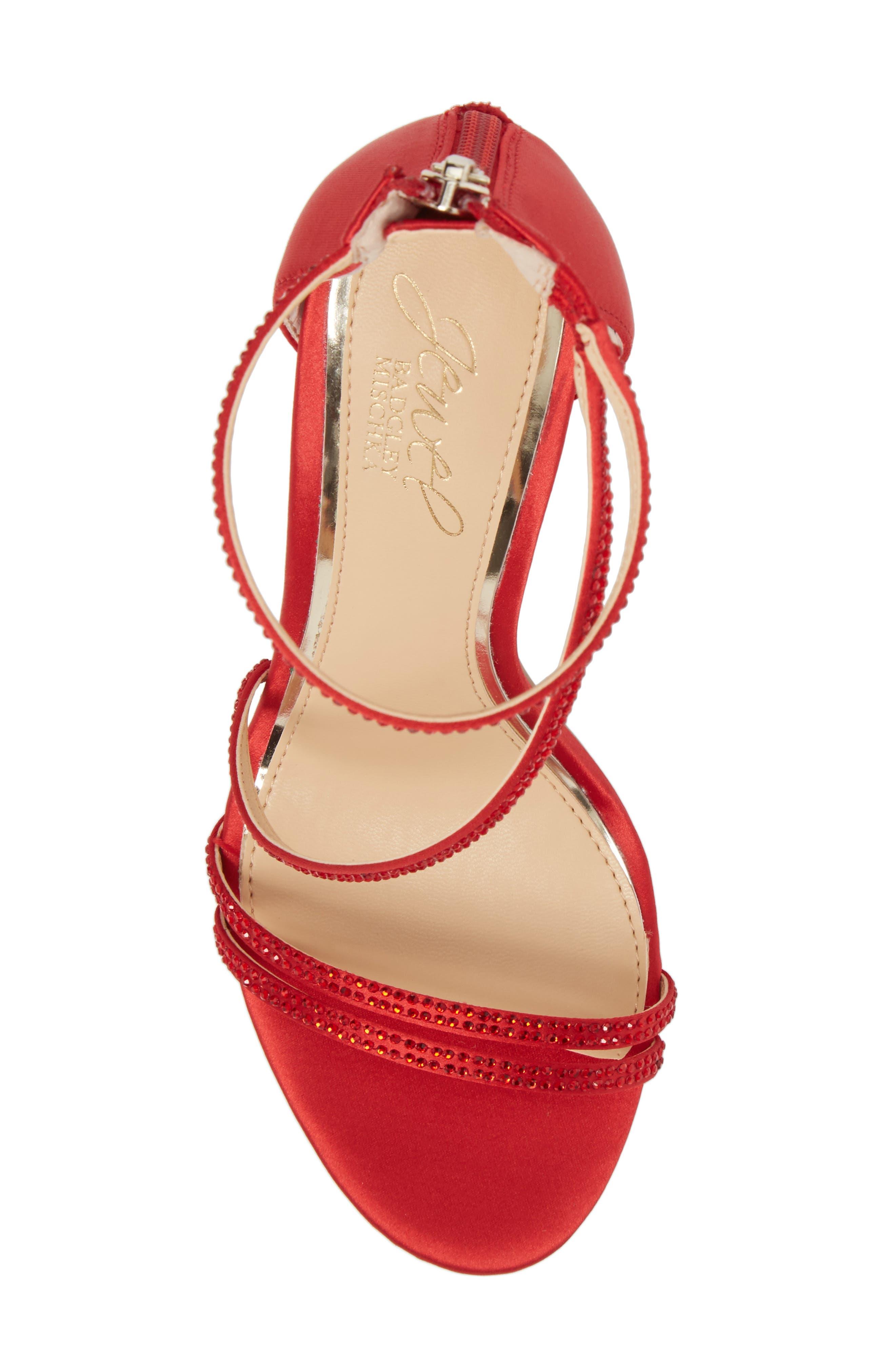 Gail Crystal Embellished Sandal,                             Alternate thumbnail 15, color,