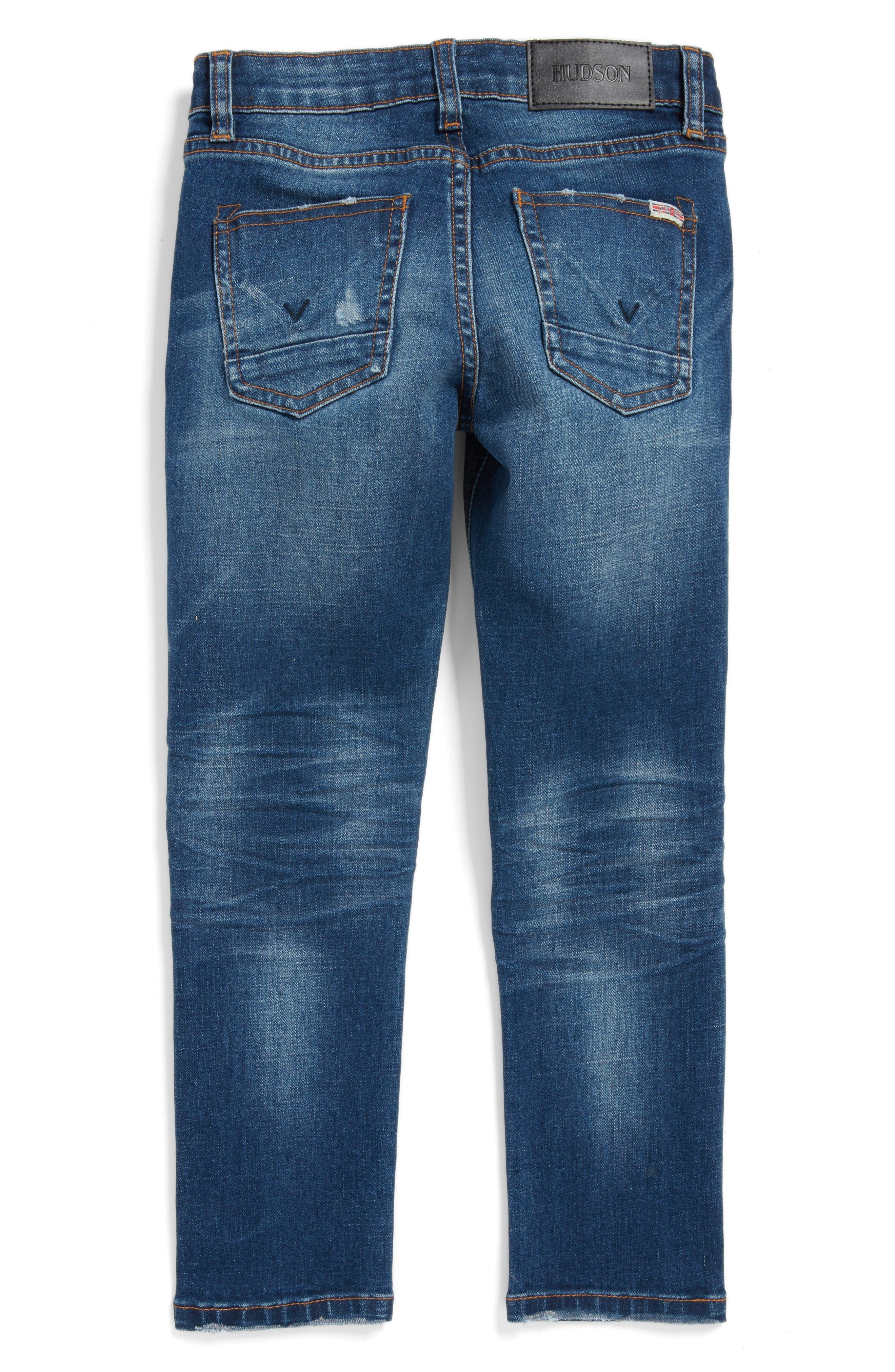 Hudson Jagger Slim Straight Leg Jeans,                             Main thumbnail 2, color,