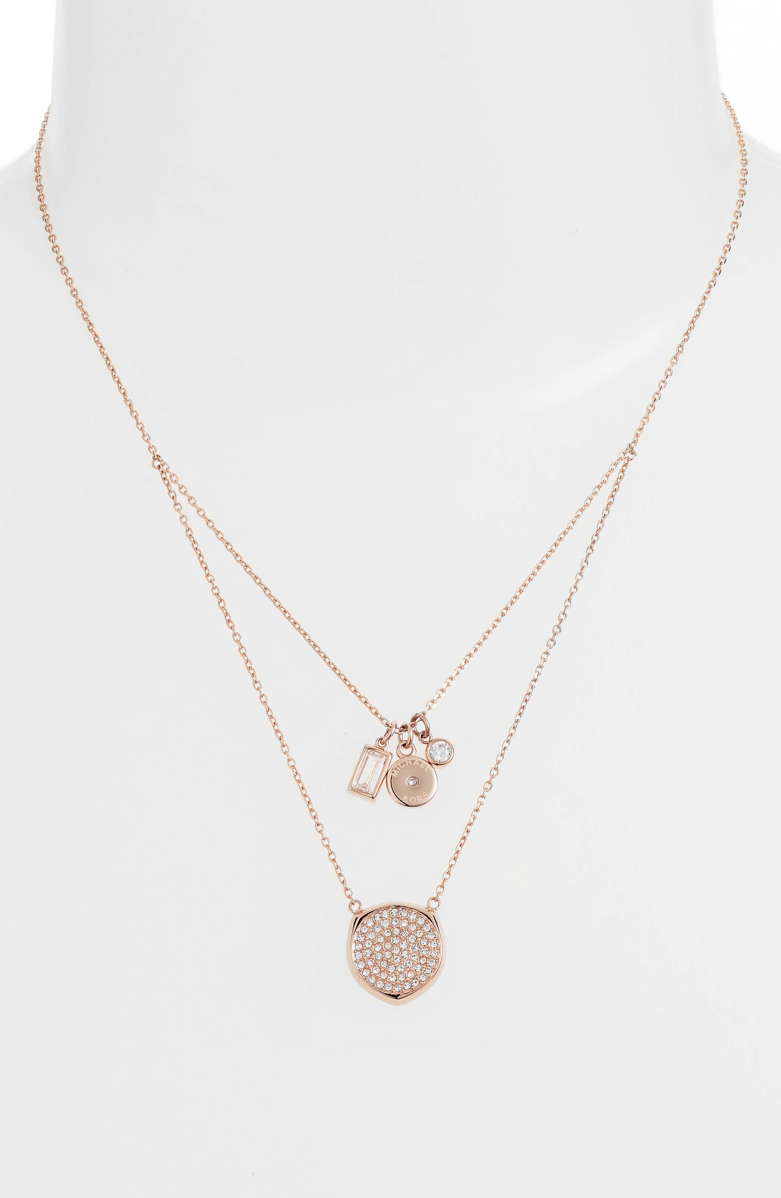 Charm Pendant Necklace,                             Alternate thumbnail 2, color,                             650