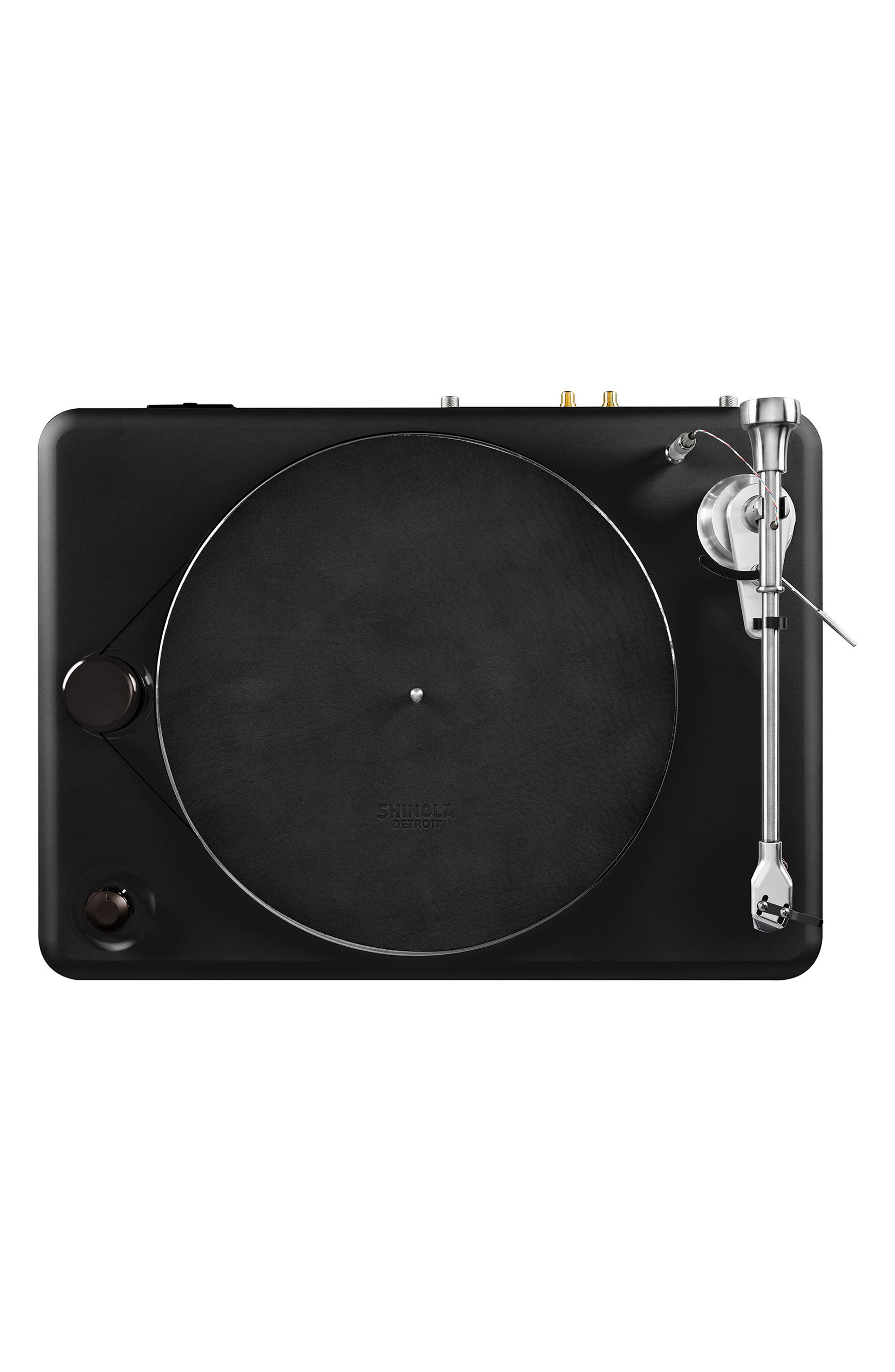 The Runwell Turntable,                             Alternate thumbnail 3, color,                             BLACK/ SILVER