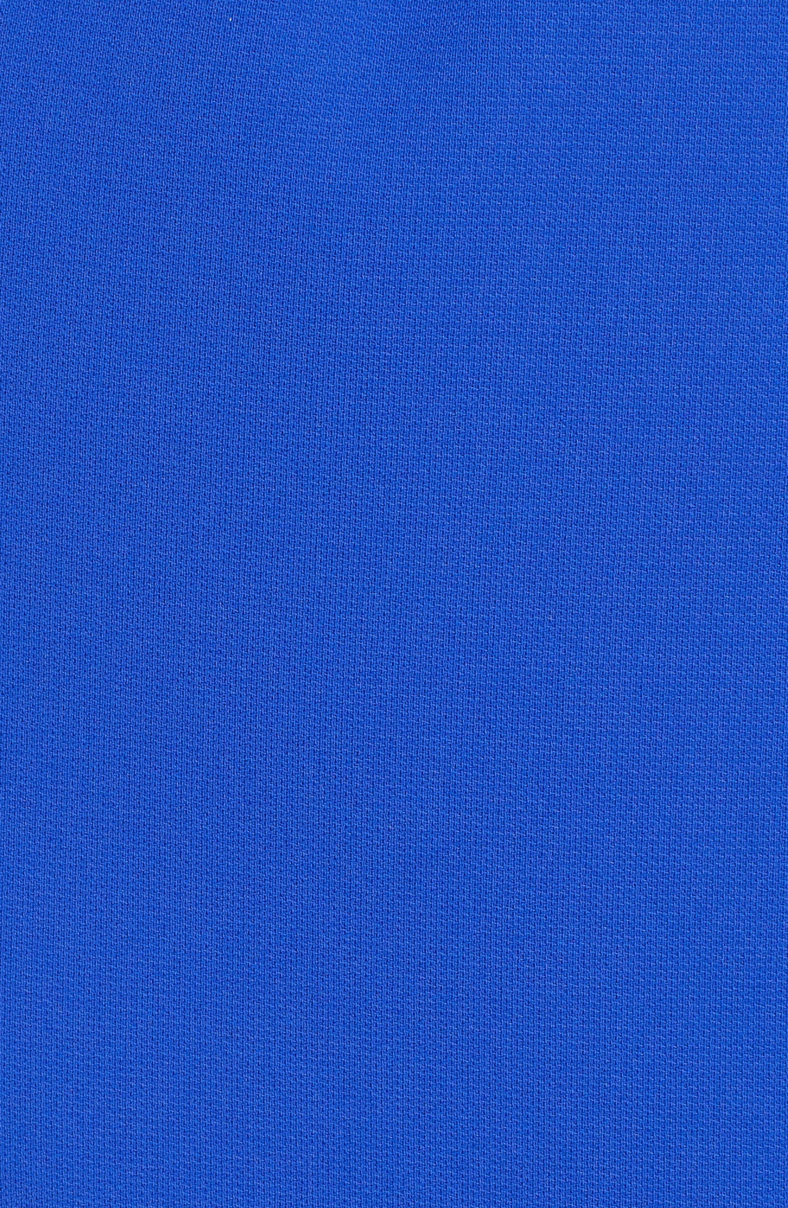 Henryke Rivet Crepe Dress,                             Alternate thumbnail 6, color,                             SAILOR BLUE