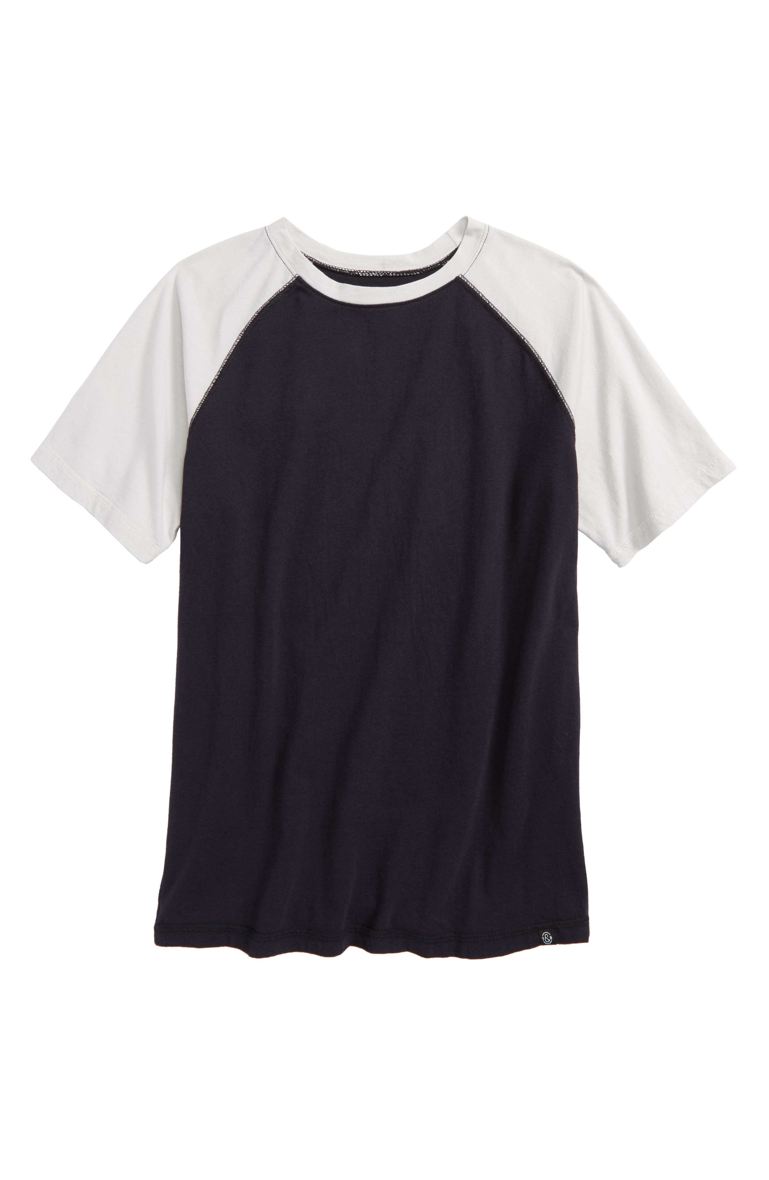 Washed Baseball Shirt,                             Main thumbnail 1, color,                             001