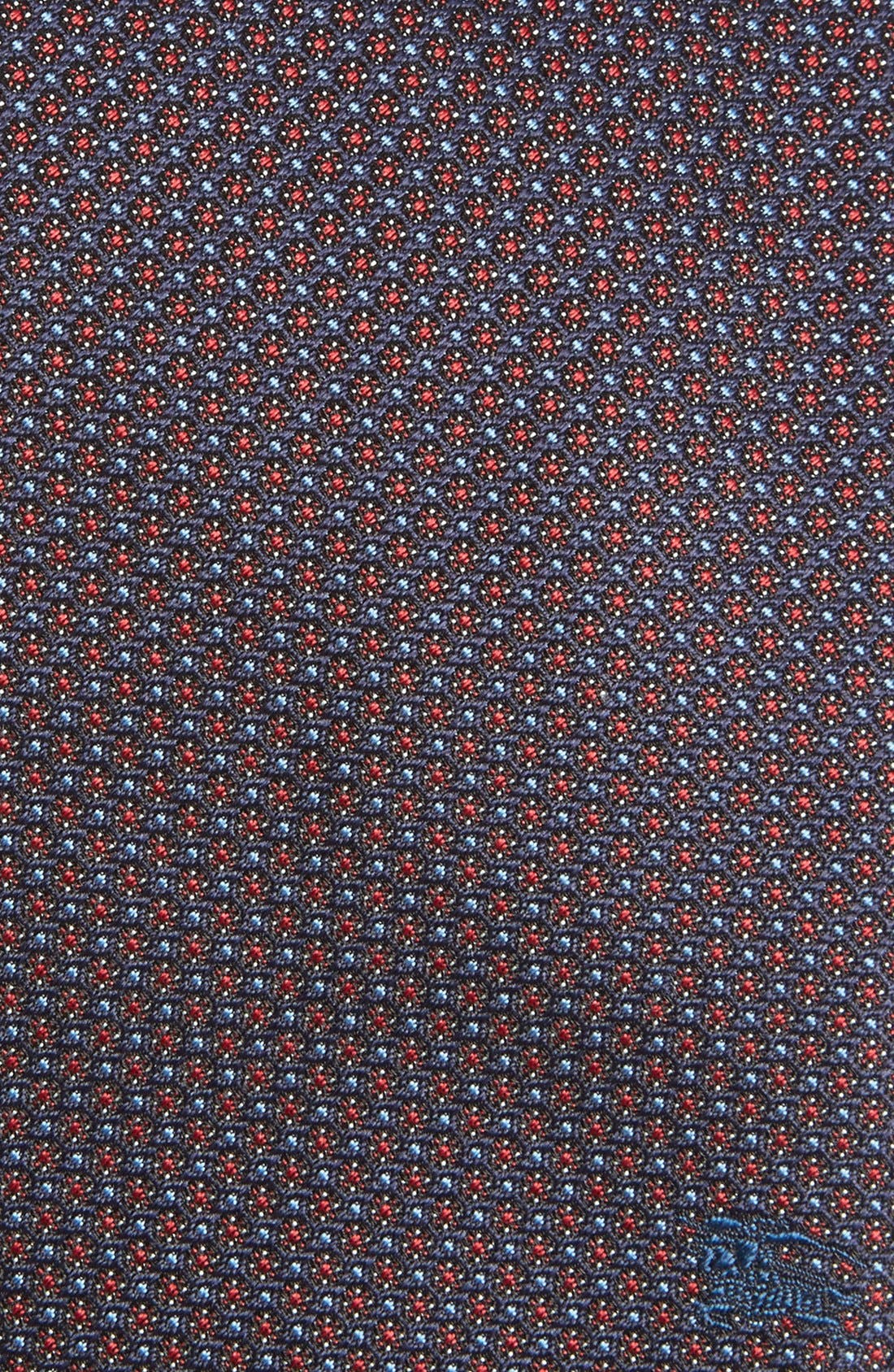 London 'Clinton' Medallion Silk Tie,                             Alternate thumbnail 5, color,