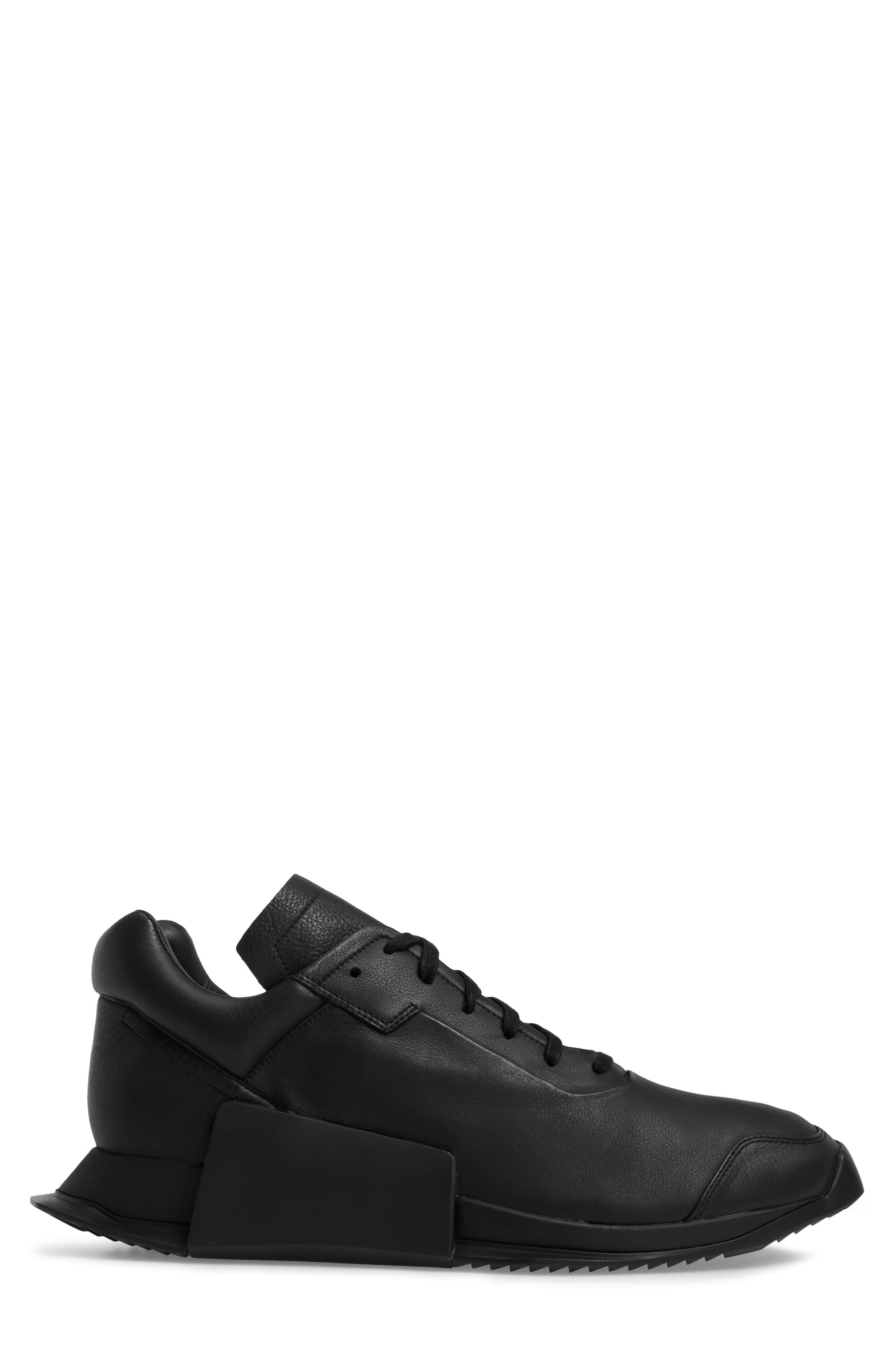 New Runner Boost Sneaker,                             Alternate thumbnail 3, color,                             001