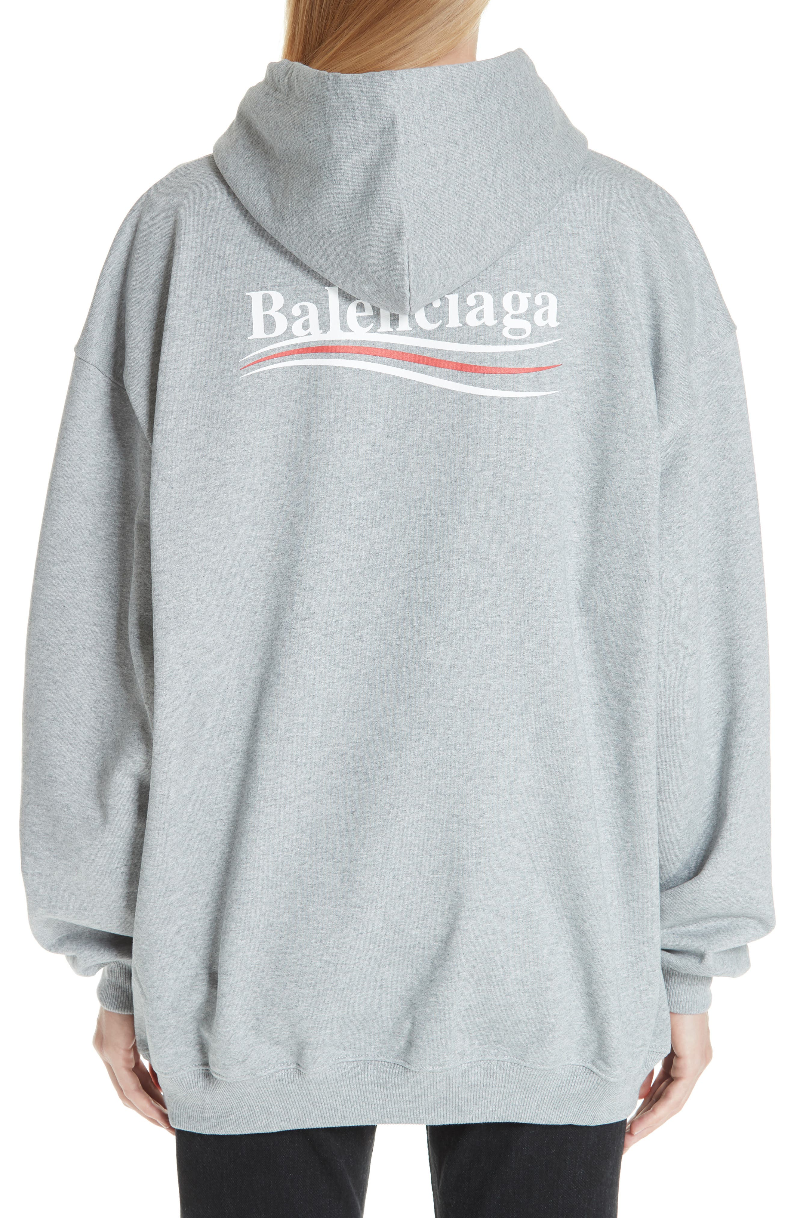 Campaign Logo Hoodie,                             Alternate thumbnail 2, color,                             020