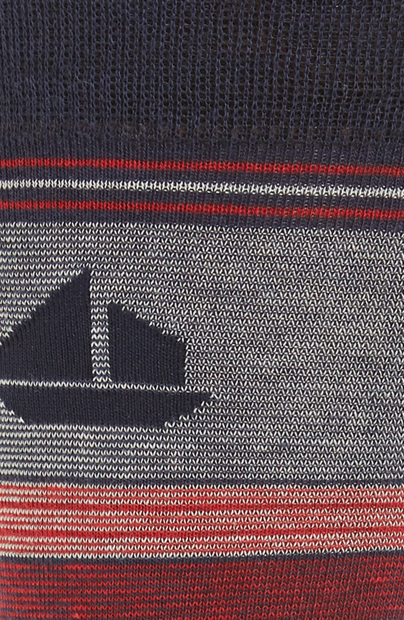Twist Stripe Crew Socks,                             Alternate thumbnail 2, color,                             426