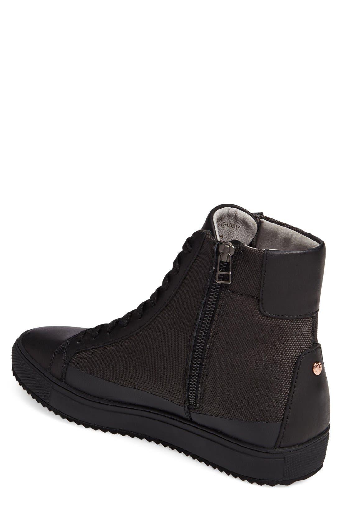 Logan Water Resistant High Top Sneaker,                             Alternate thumbnail 23, color,
