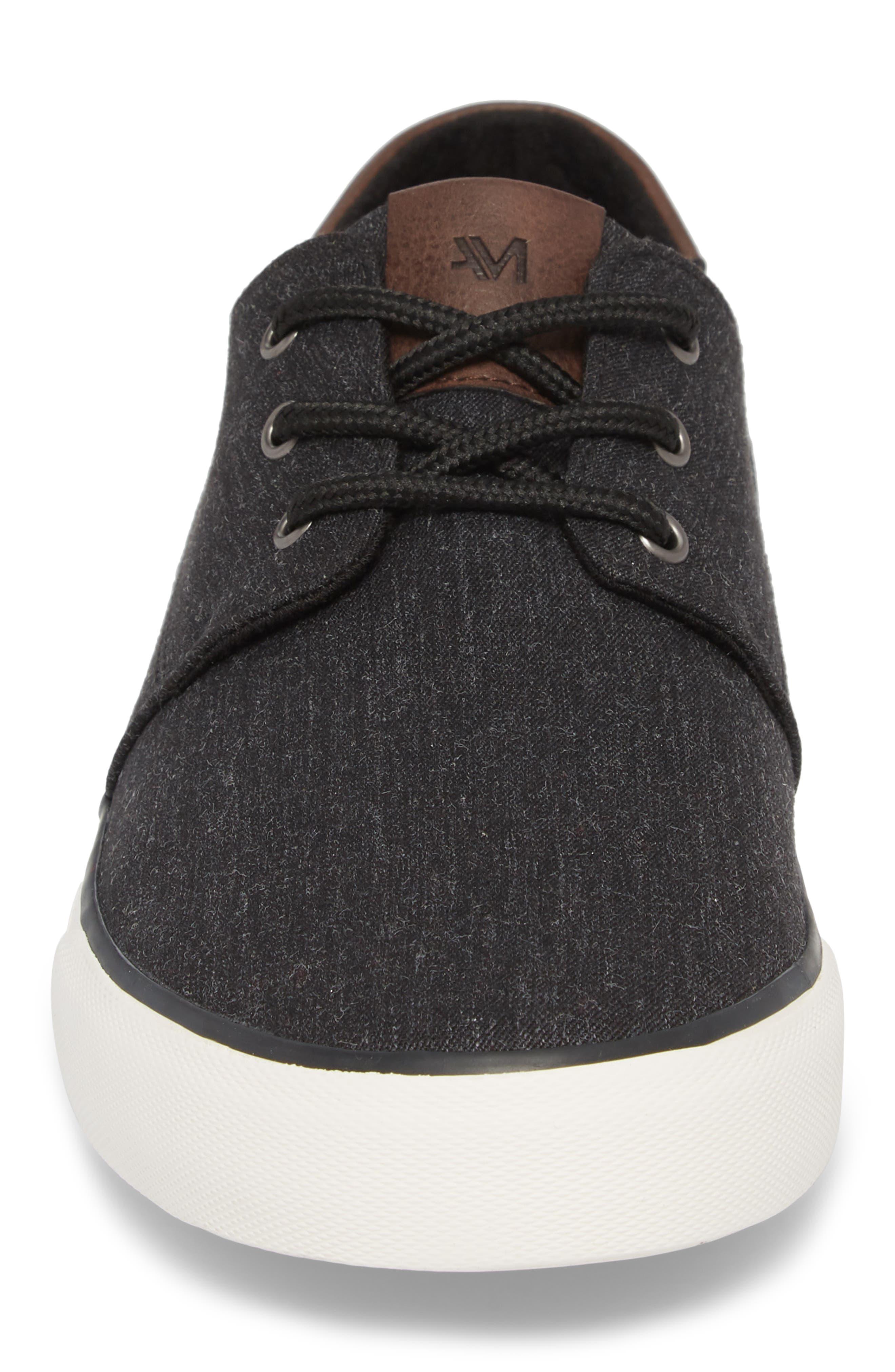Briggs Low Top Sneaker,                             Alternate thumbnail 4, color,                             001