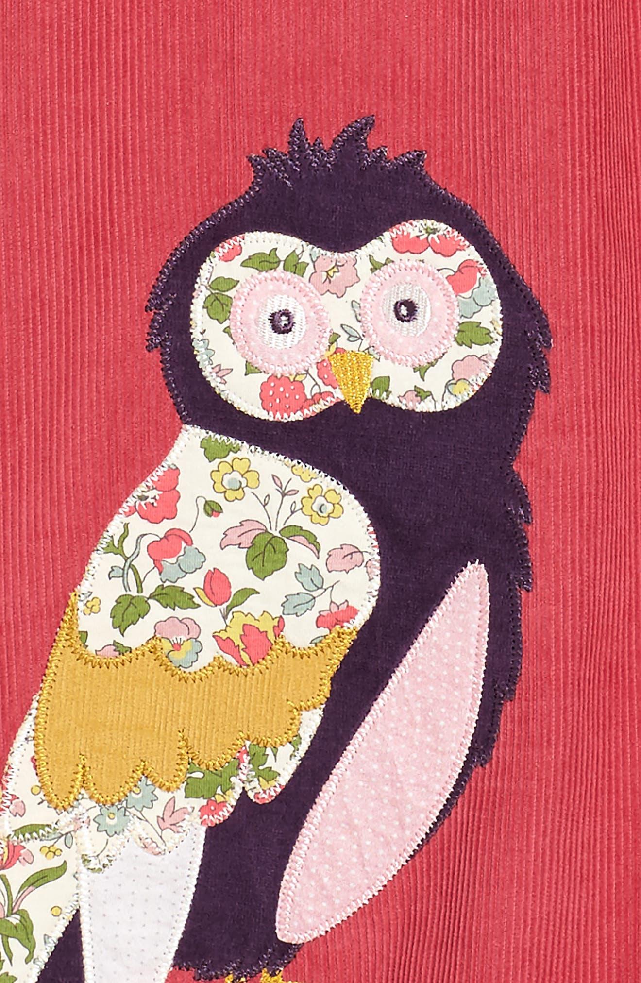 Animal Appliqué Dress,                             Alternate thumbnail 3, color,                             664