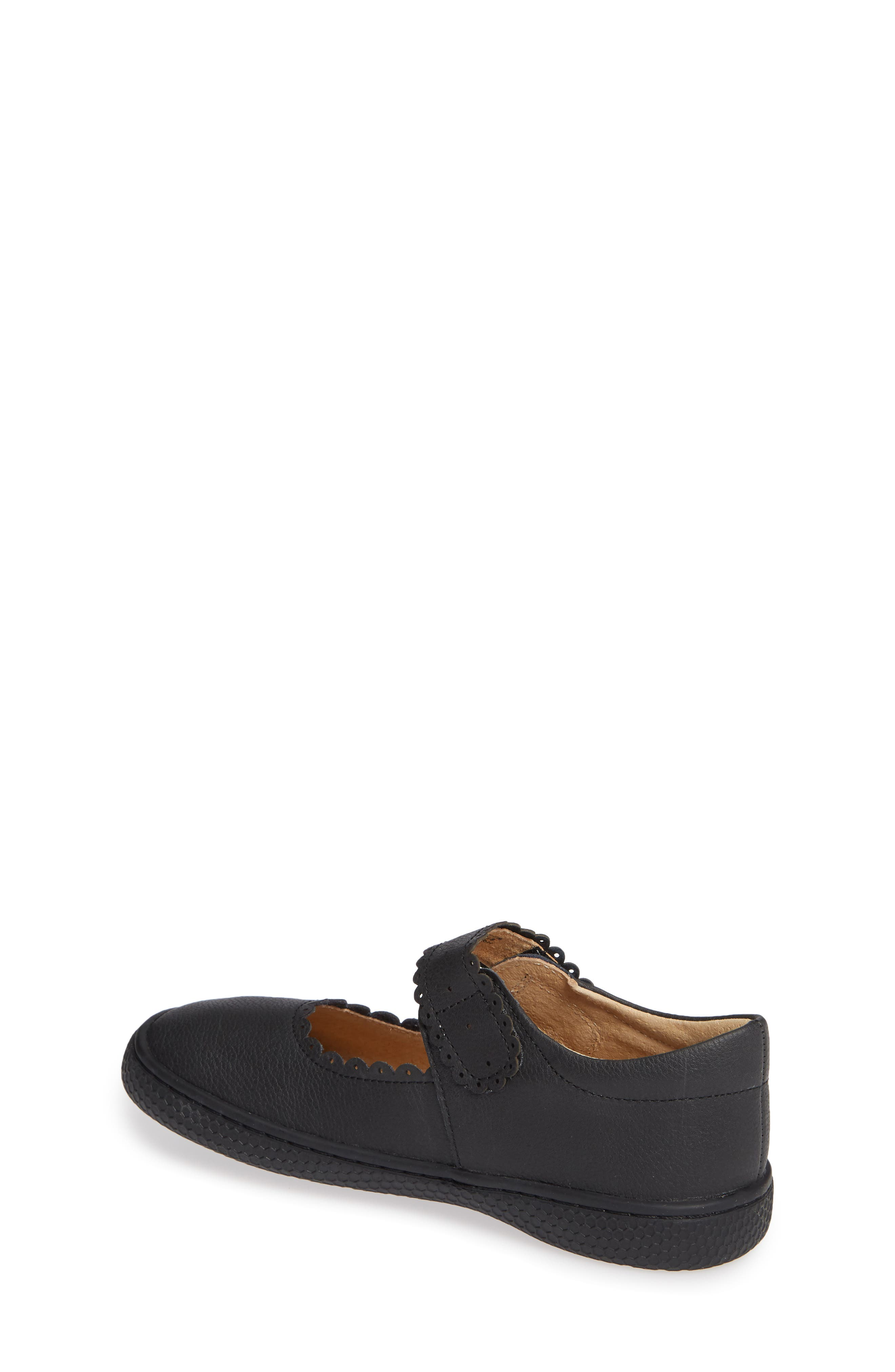 Briar Scalloped Mary Jane,                             Alternate thumbnail 2, color,                             BLACK