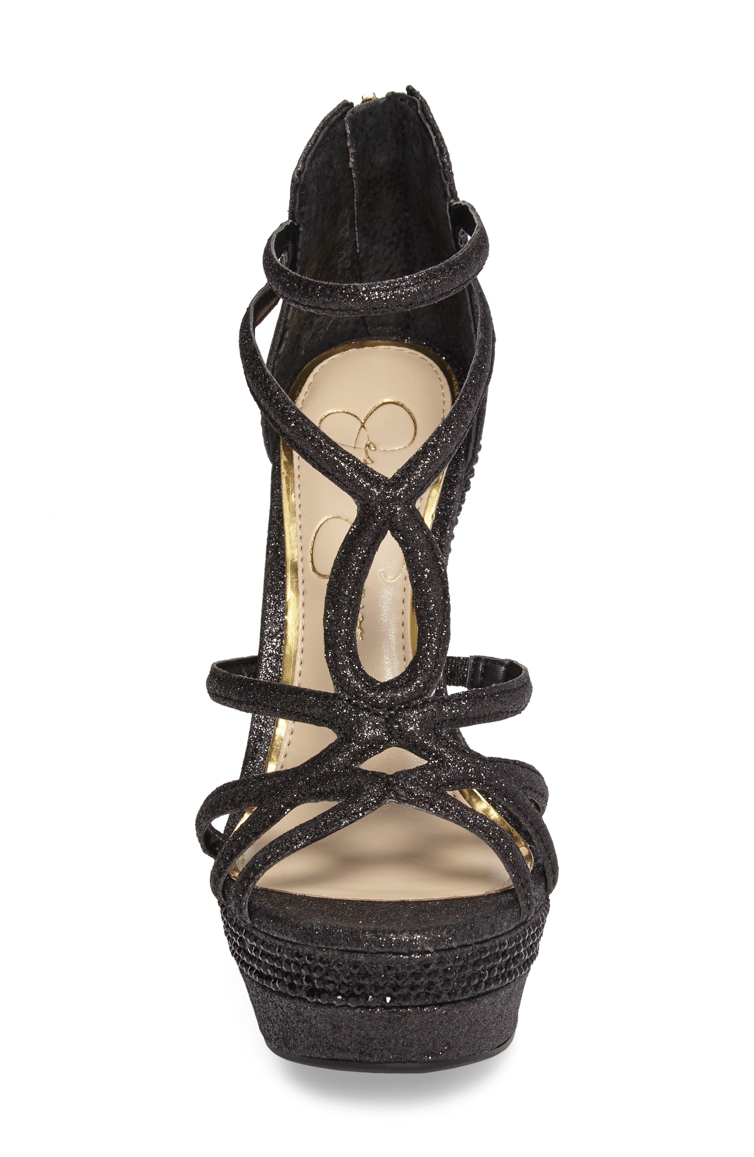 Rozmari Platform Sandal,                             Alternate thumbnail 4, color,                             001