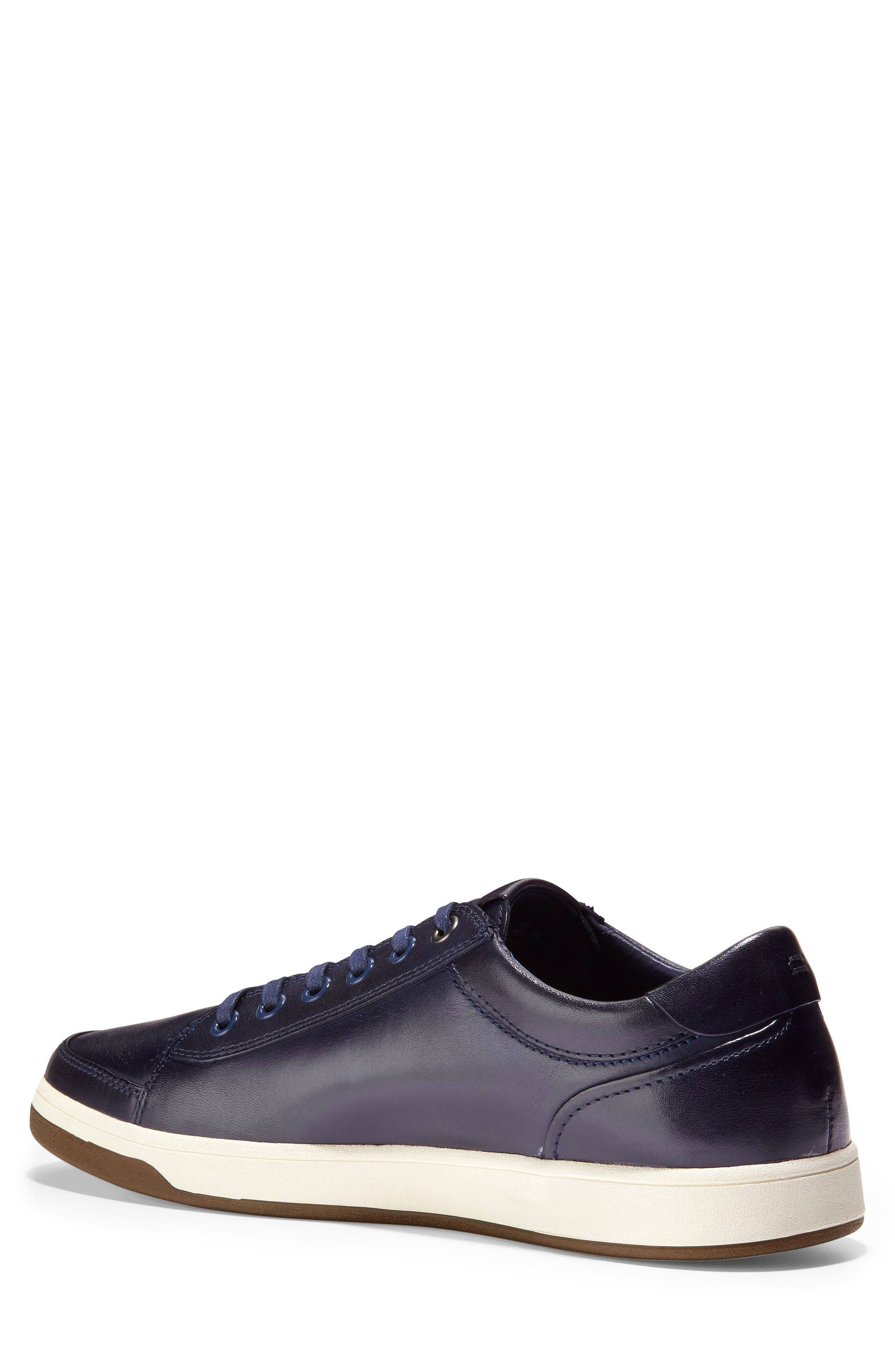 GrandPro Spectator Sneaker,                             Alternate thumbnail 2, color,                             BLAZER BLUE HANDSTAIN LEATHER
