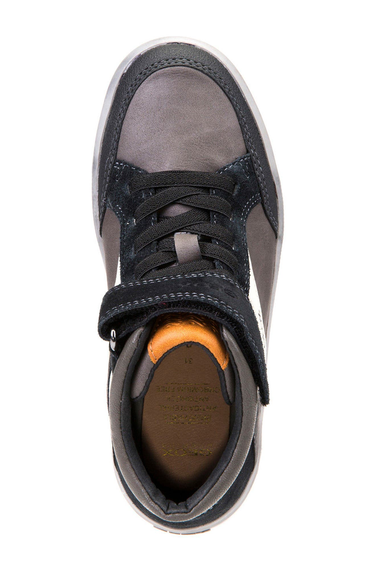 Arzach Mid Top Sneaker,                             Alternate thumbnail 5, color,                             001